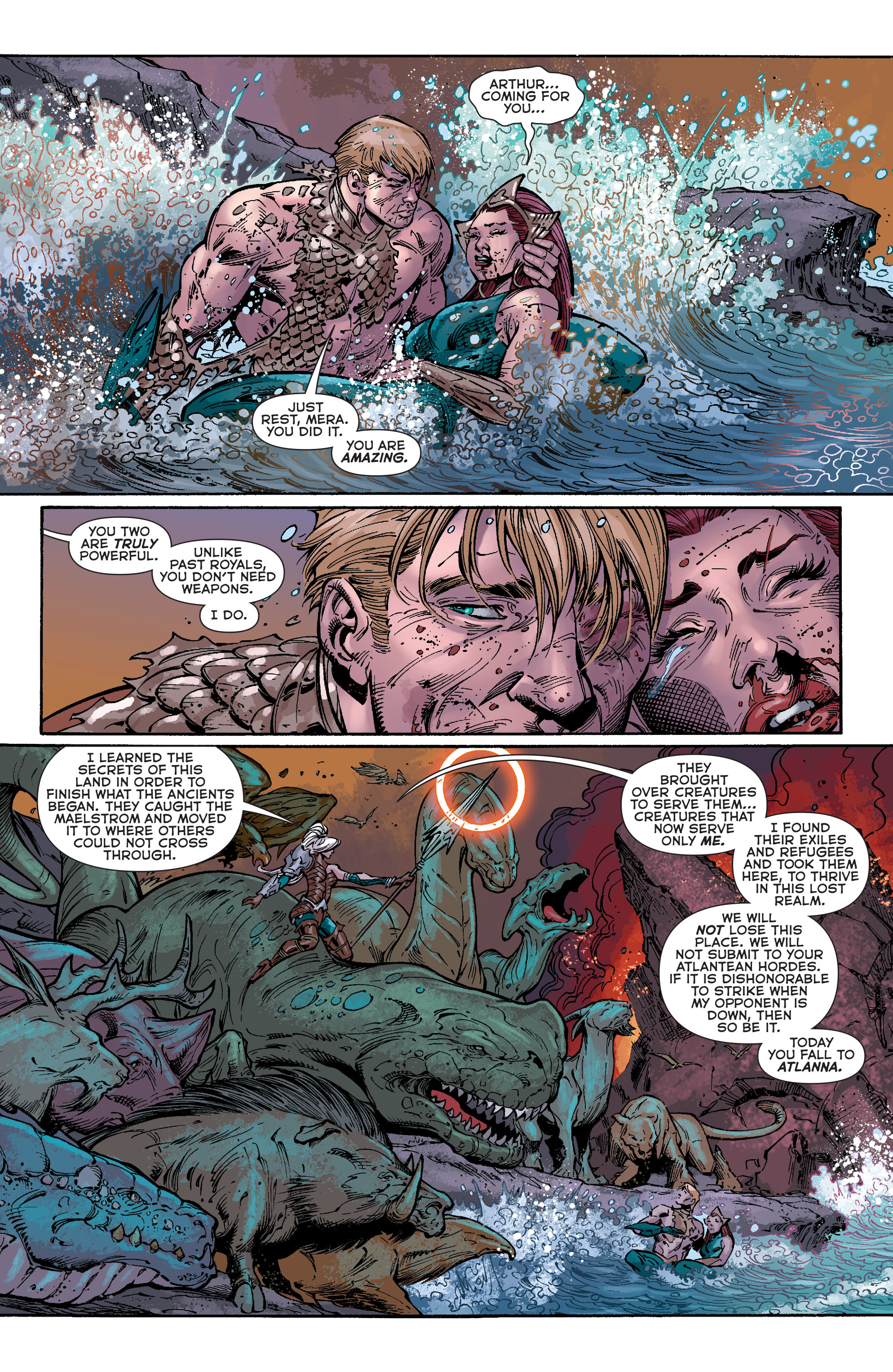 Read online Aquaman (2011) comic -  Issue #40 - 12