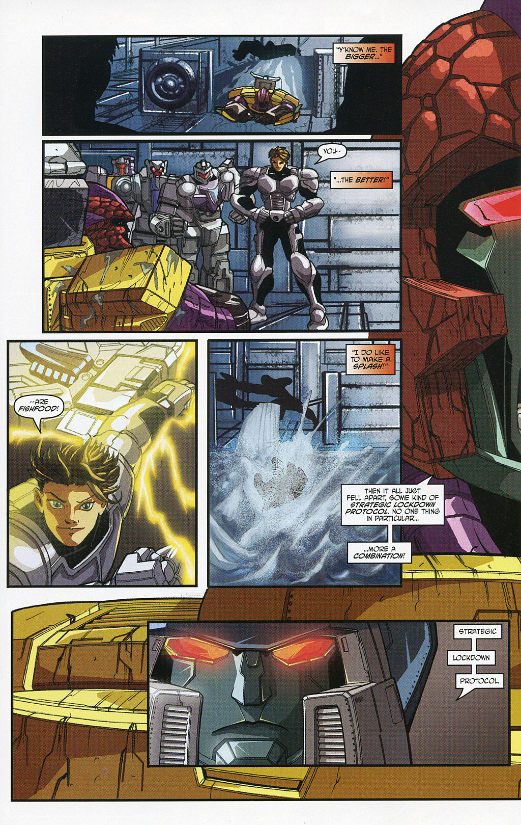 Read online Transformers 20th Anniversary Summer Special comic -  Issue # Full - 19