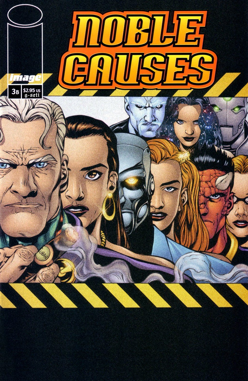 Read online Noble Causes (2002) comic -  Issue #3 - 1