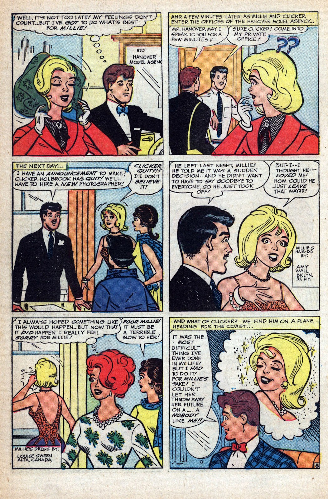 Read online Millie the Model comic -  Issue # Annual 1 - 66