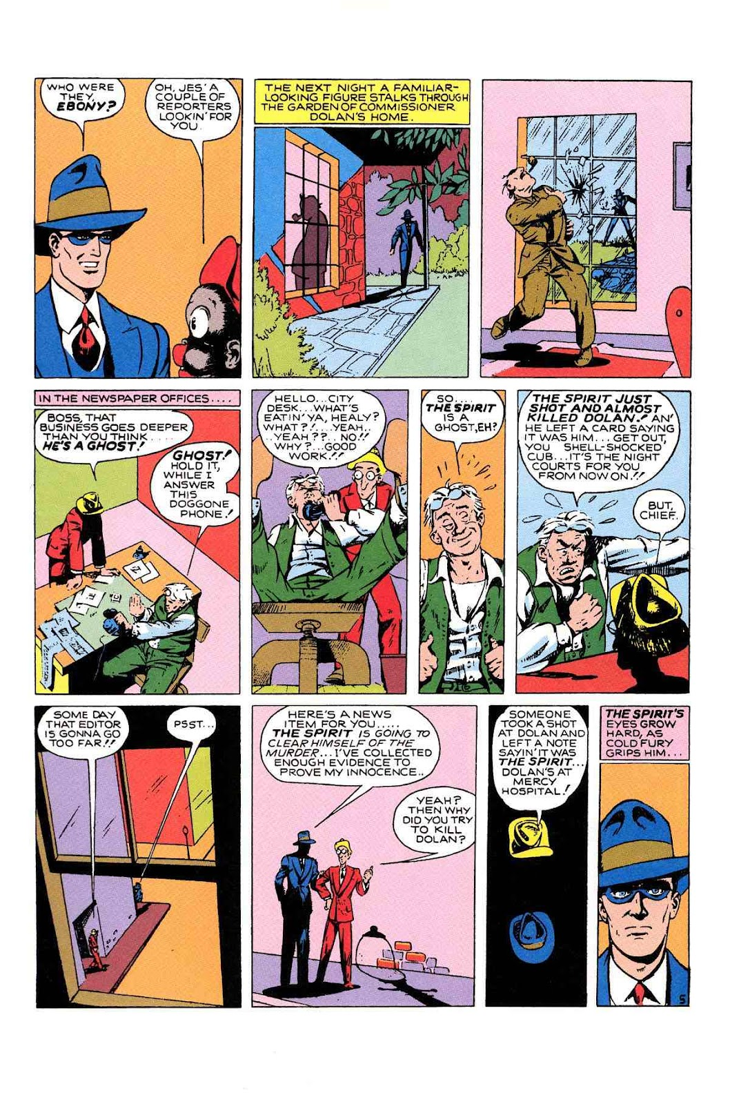 Read online Will Eisner's The Spirit Archives comic -  Issue # TPB 1 (Part 2) - 39