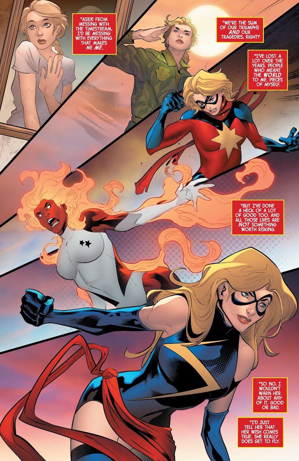 Read online Captain Marvel: Braver & Mightier comic -  Issue #1 - 21
