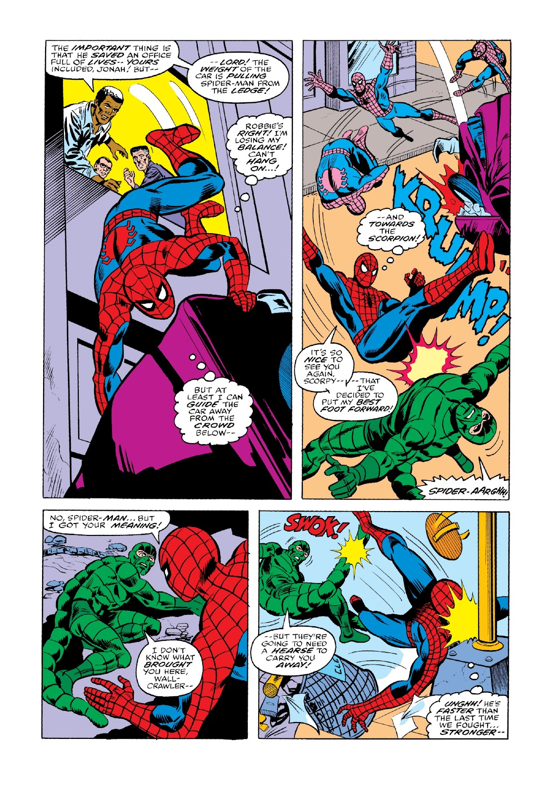Read online Marvel Masterworks: The Spectacular Spider-Man comic -  Issue # TPB 2 (Part 2) - 13