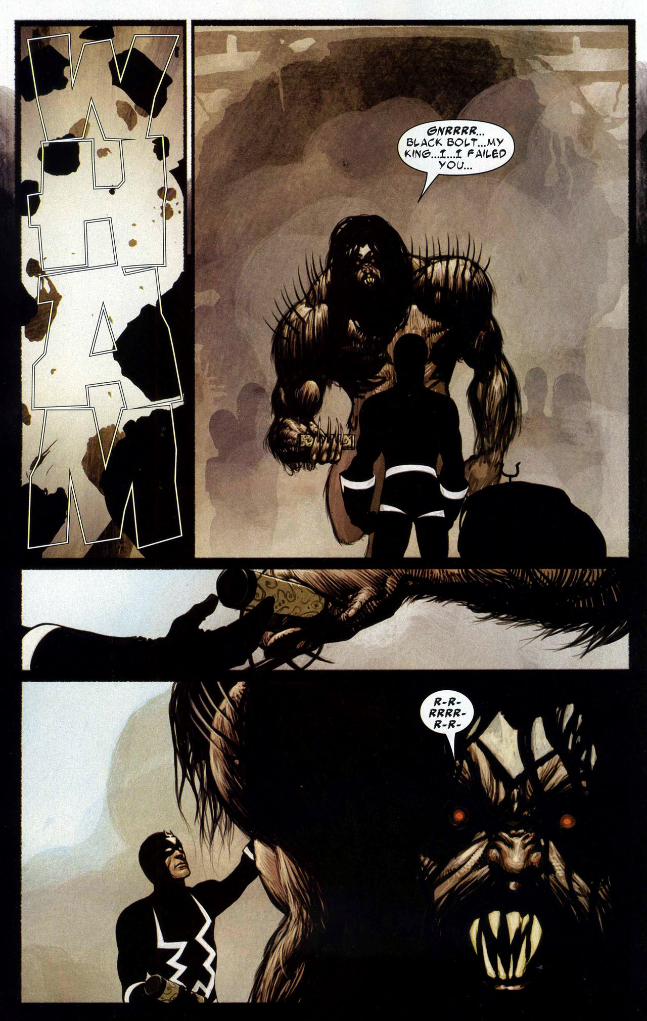 Read online Silent War comic -  Issue #5 - 20