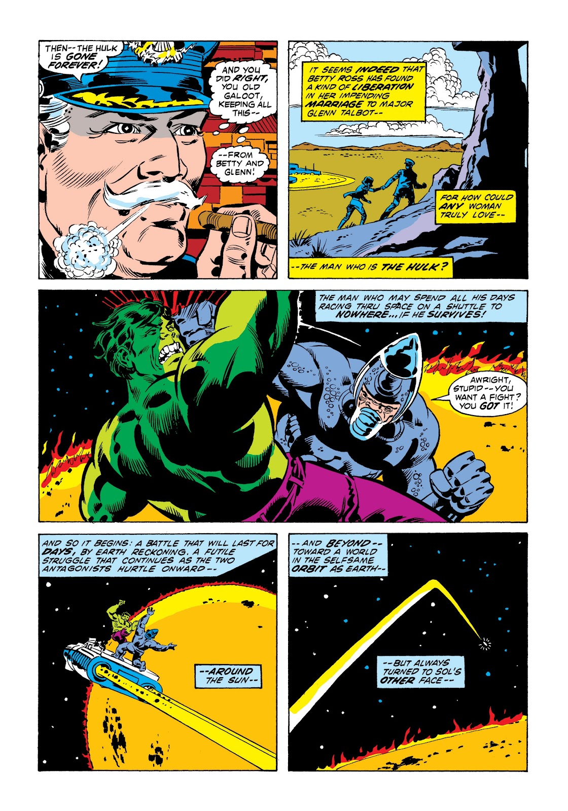 Read online Marvel Masterworks: The Incredible Hulk comic -  Issue # TPB 9 (Part 1) - 34