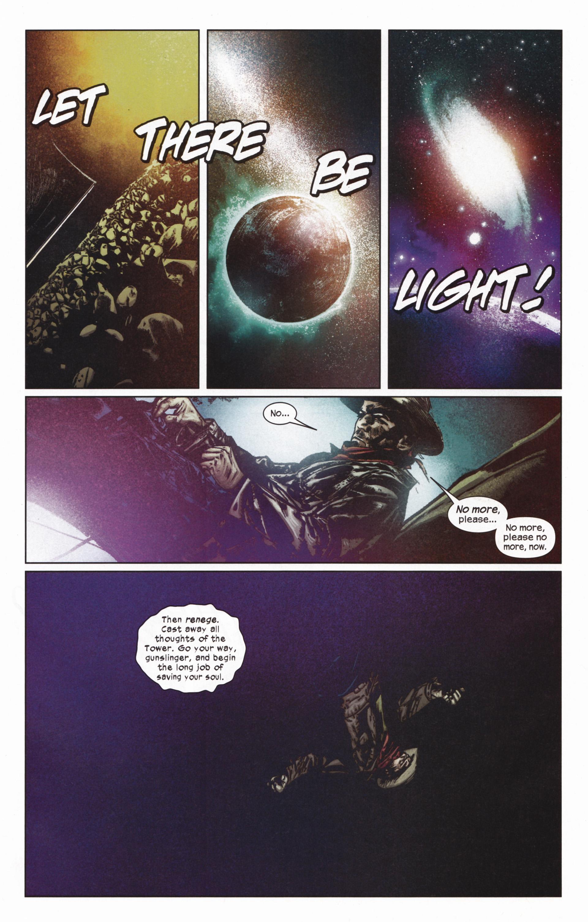 Read online Dark Tower: The Gunslinger - The Man in Black comic -  Issue #5 - 14