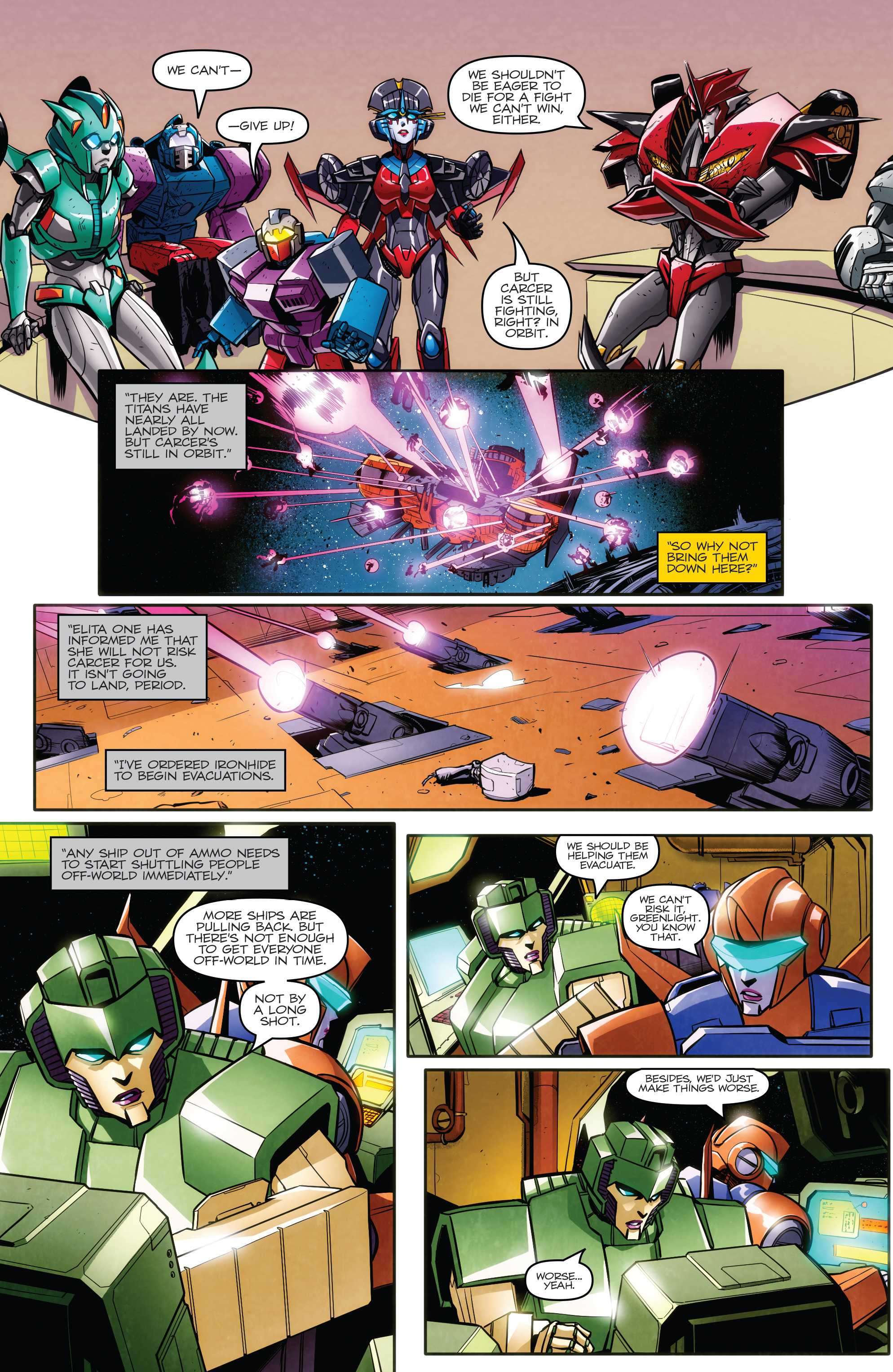 Read online Transformers: Till All Are One comic -  Issue #6 - 15