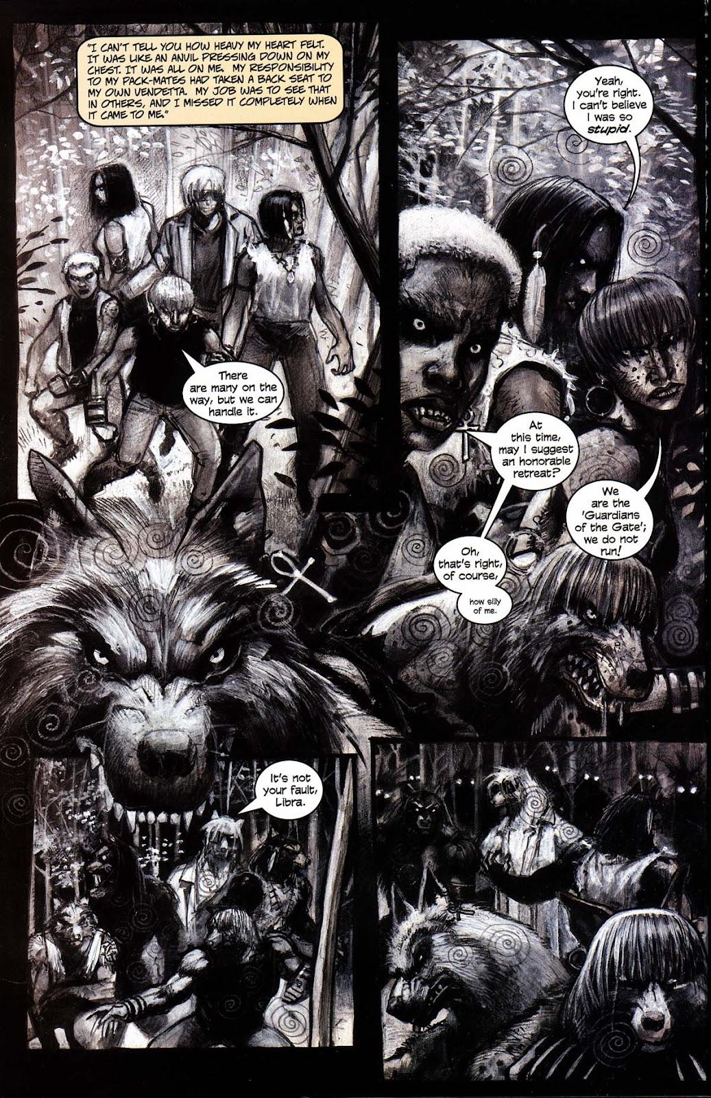 Read online Werewolf the Apocalypse comic -  Issue # Black Furies - 24