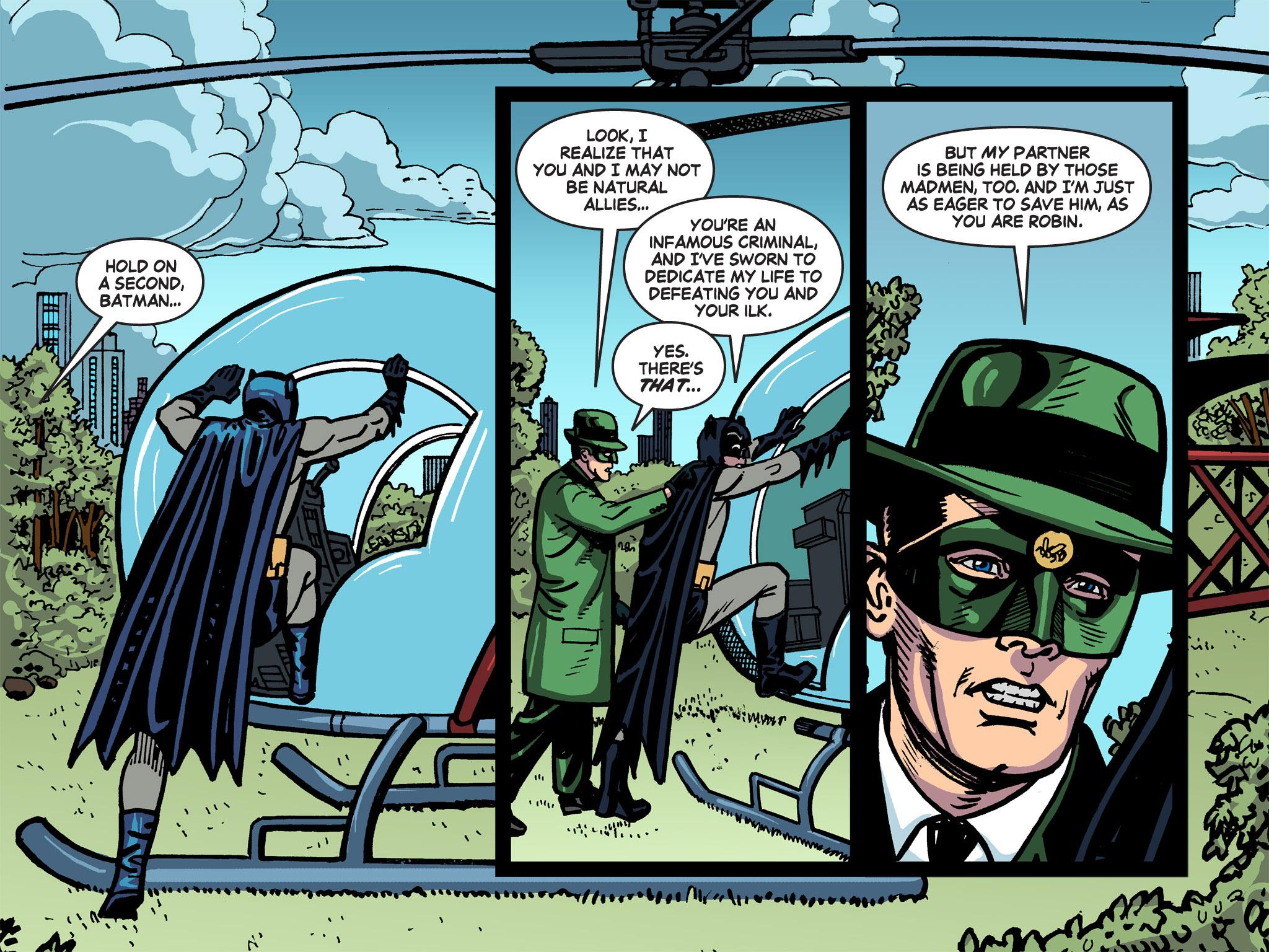 Read online Batman '66 Meets the Green Hornet [II] comic -  Issue #5 - 35