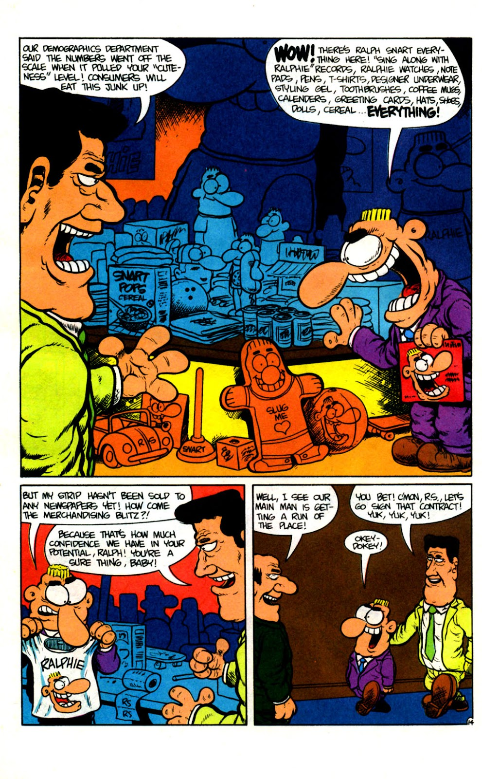 Ralph Snart Adventures (1988) issue 14 - Page 15