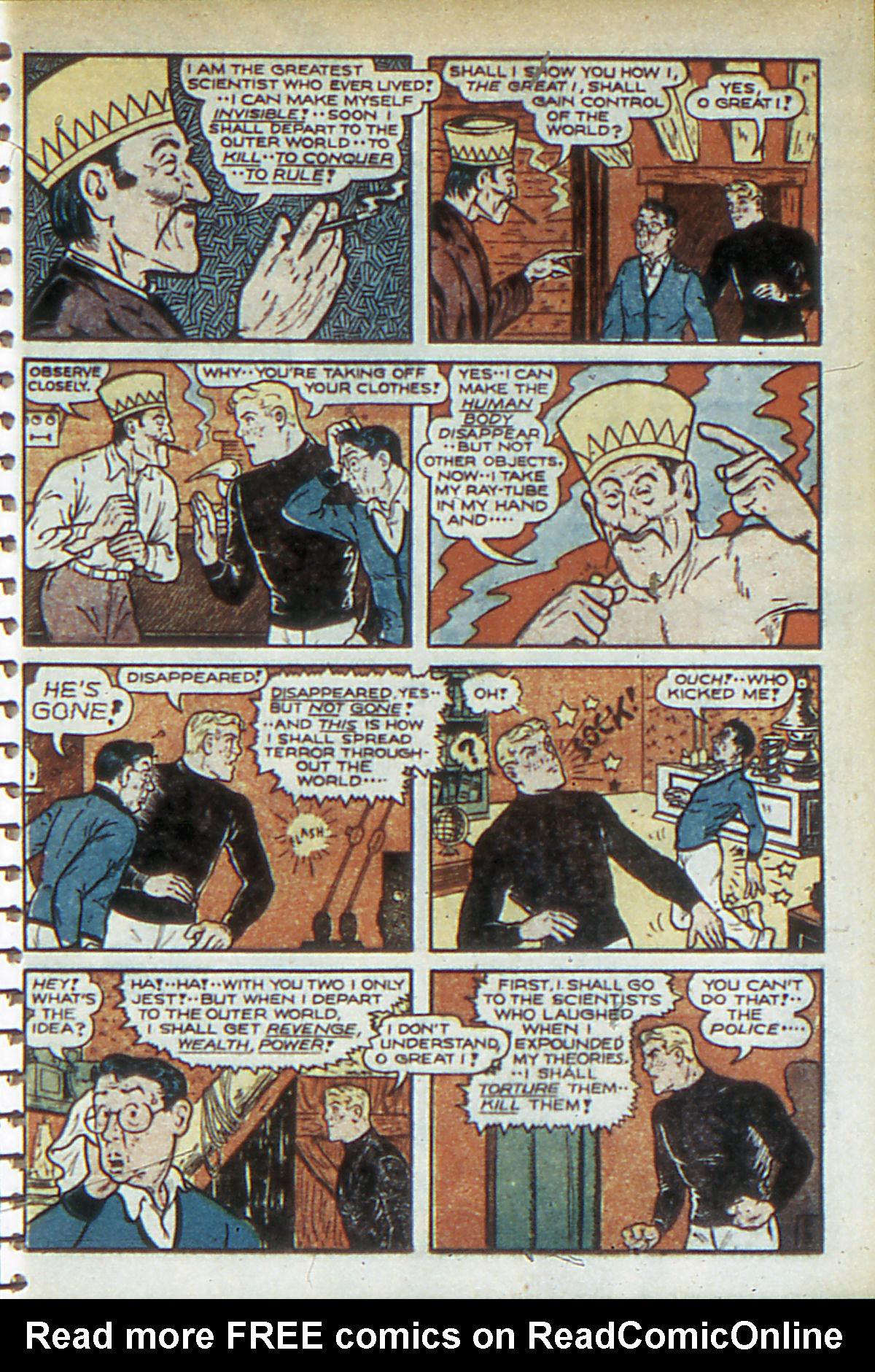 Read online Adventure Comics (1938) comic -  Issue #52 - 49