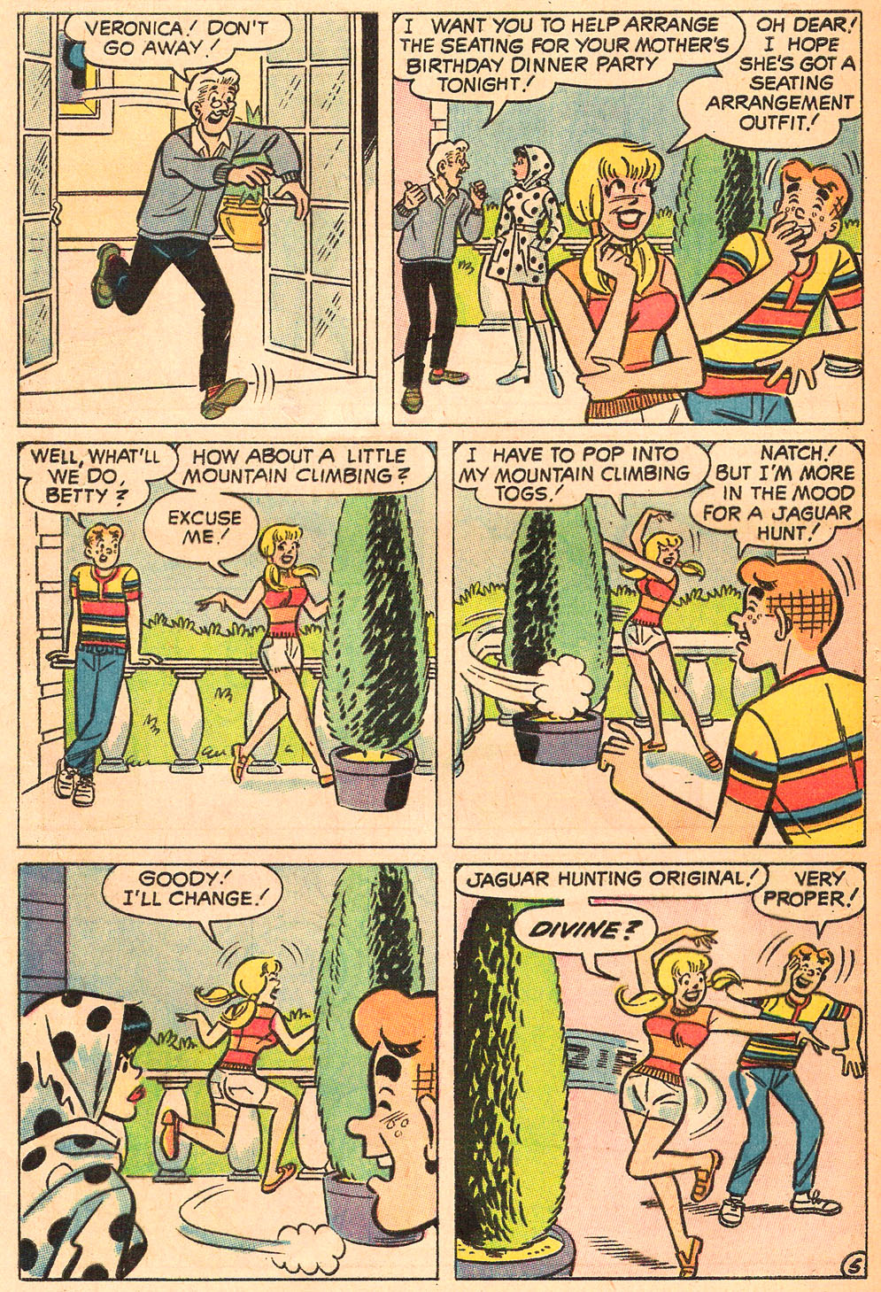 Read online Archie's Girls Betty and Veronica comic -  Issue #165 - 32