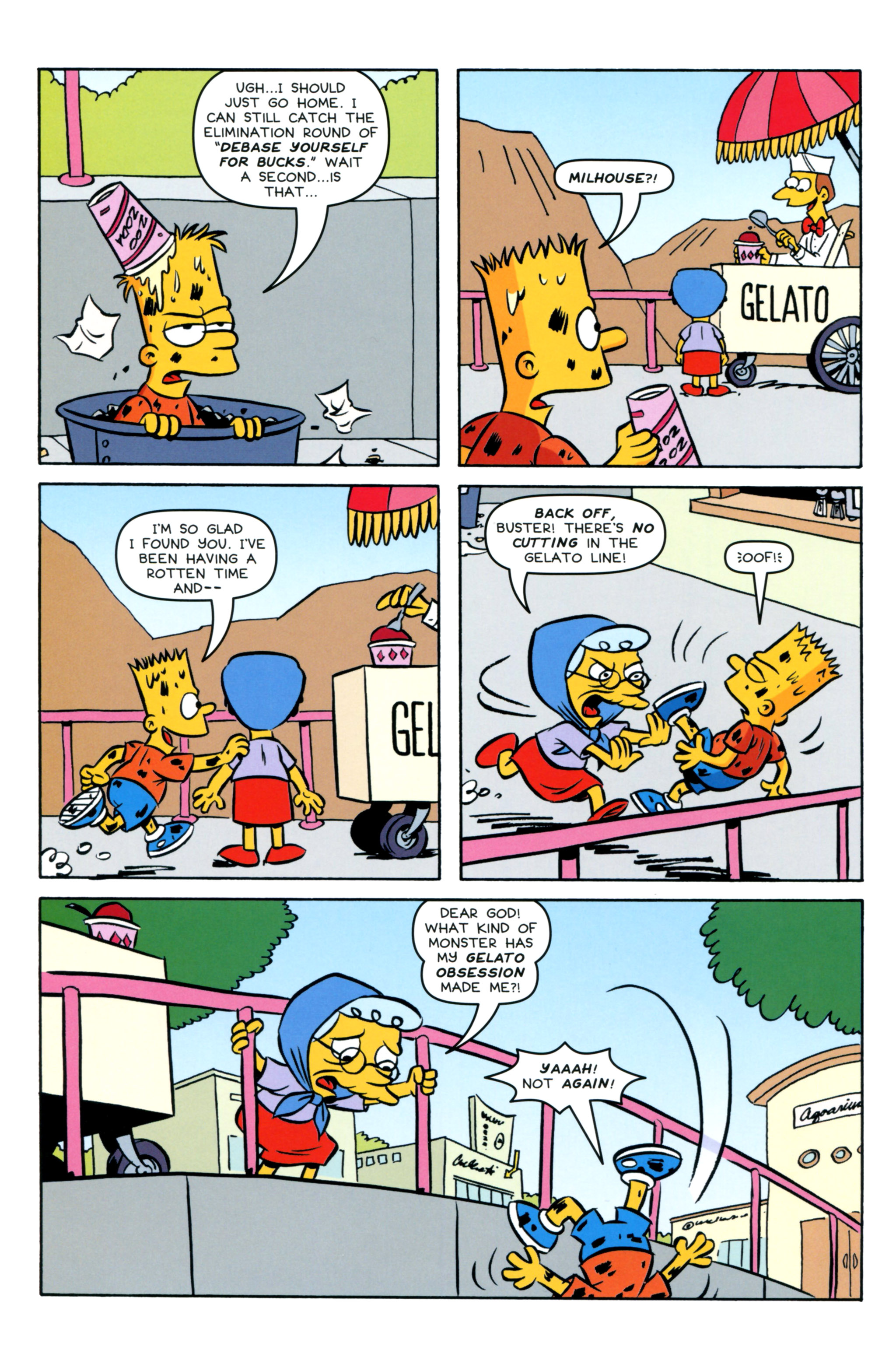 Read online Simpsons Comics Presents Bart Simpson comic -  Issue #93 - 22