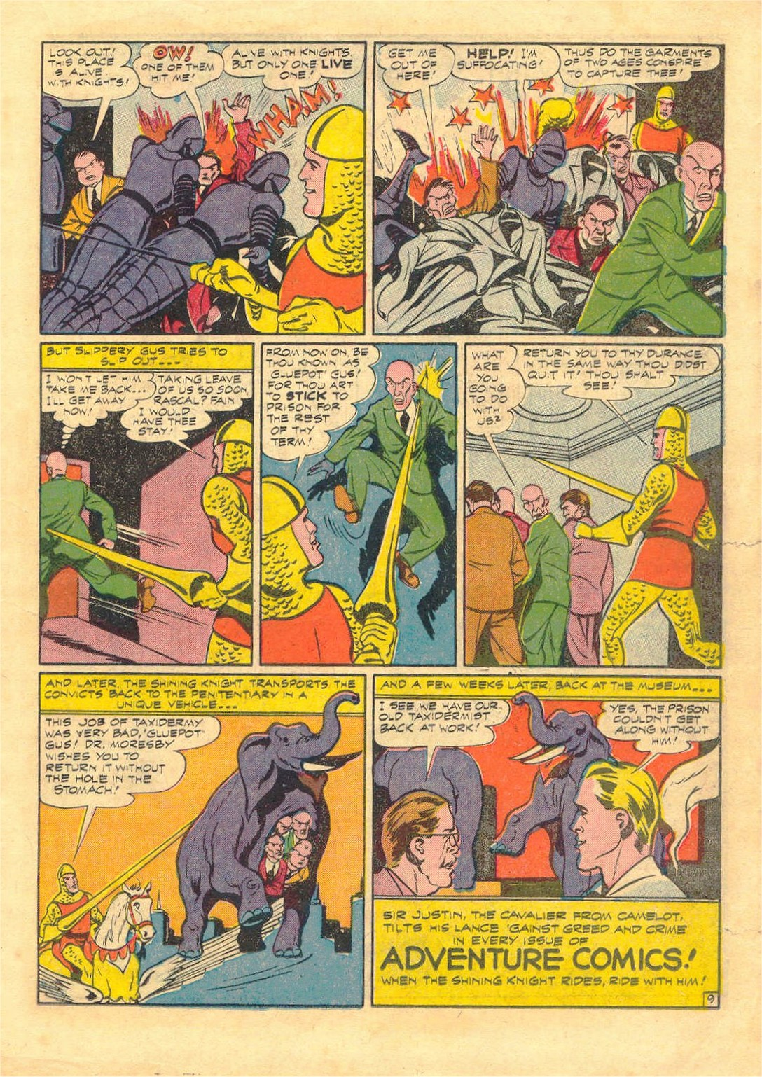 Read online Adventure Comics (1938) comic -  Issue #87 - 29