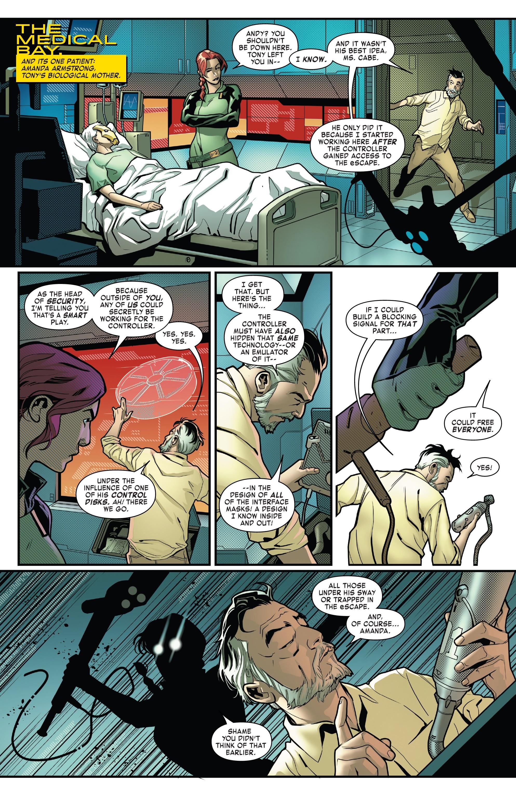 Read online Tony Stark: Iron Man comic -  Issue #8 - 12