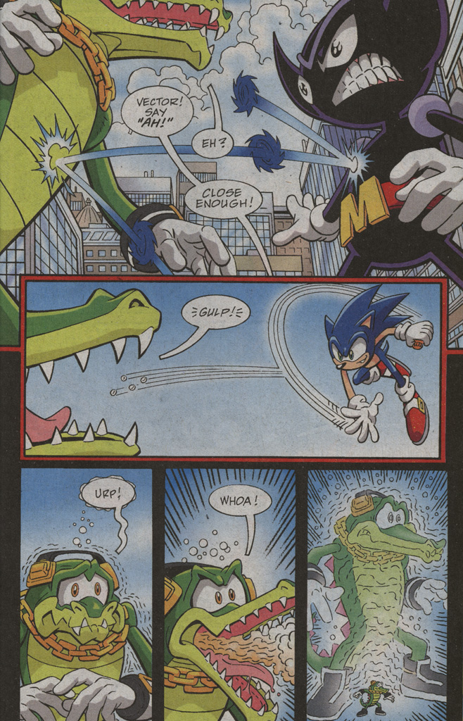 Read online Sonic X comic -  Issue #39 - 25