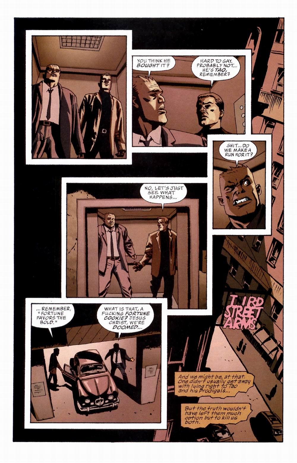 Read online Sleeper comic -  Issue #2 - 20