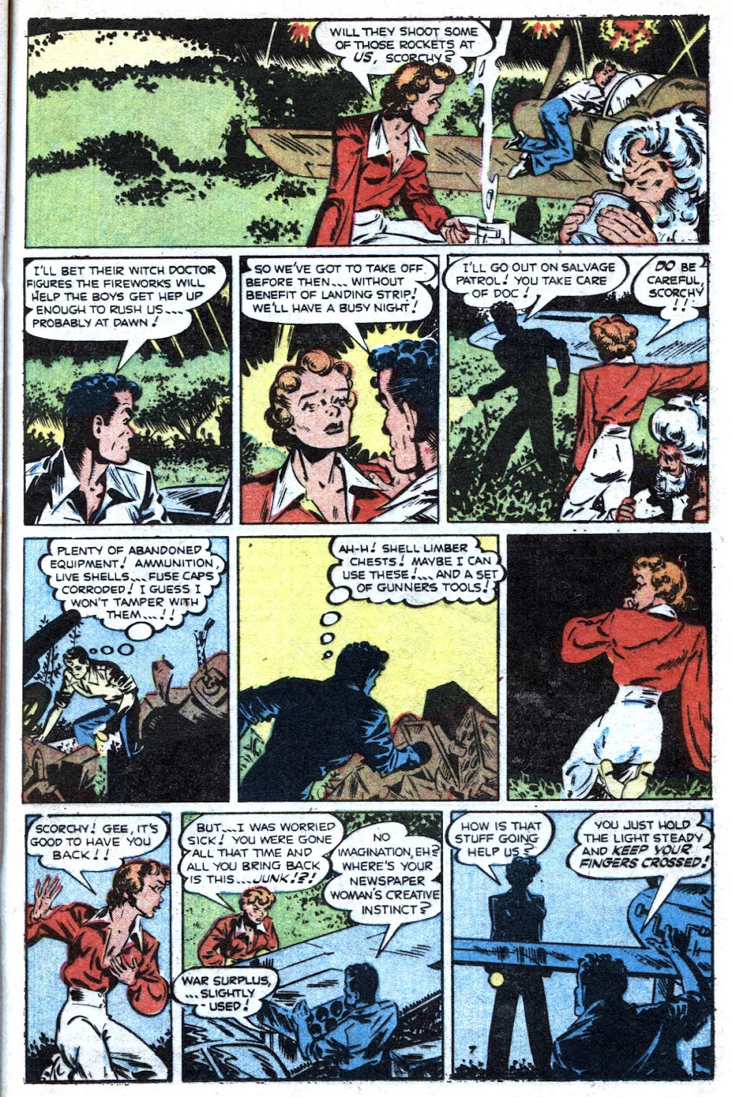 Read online Famous Funnies comic -  Issue #193 - 33