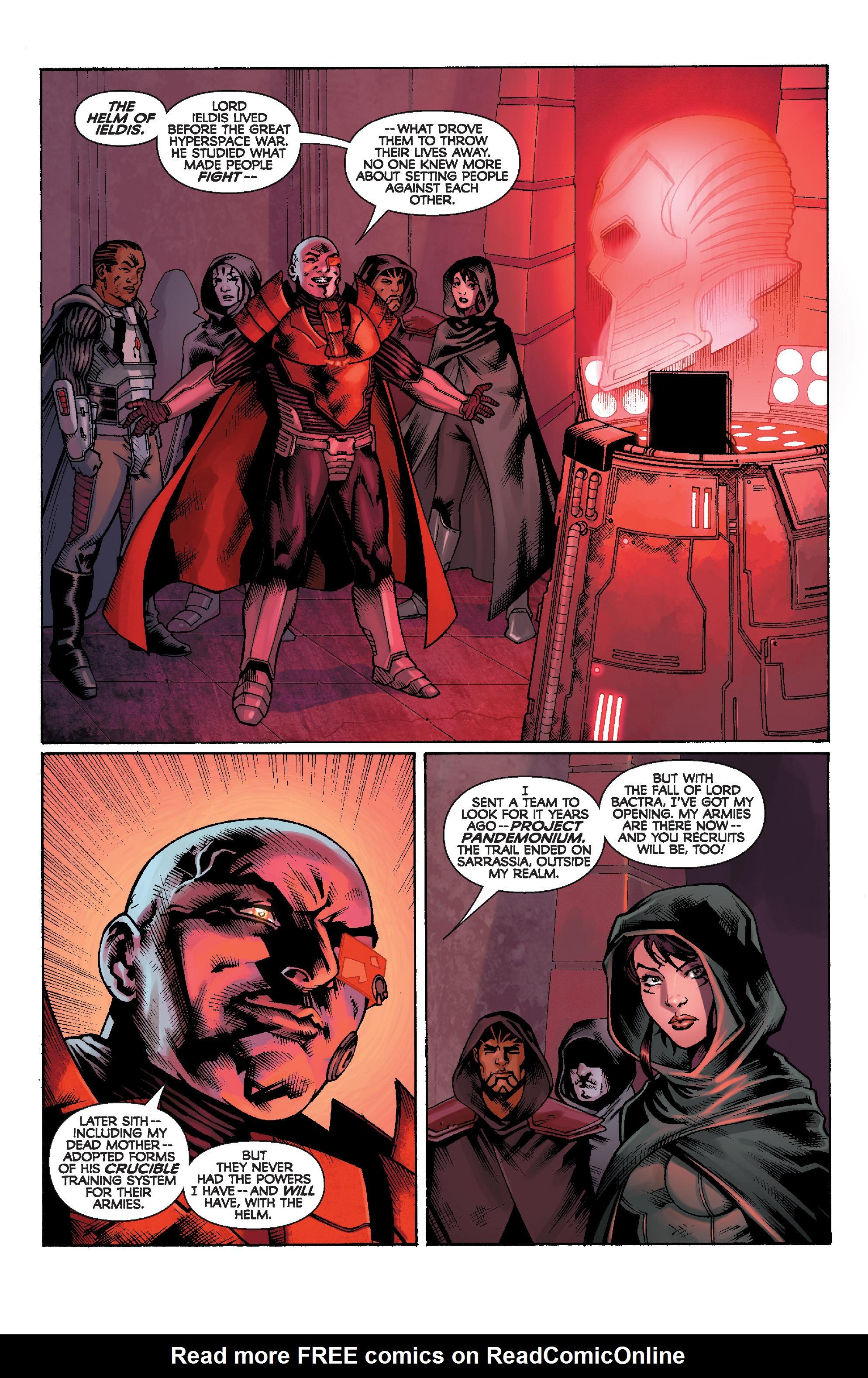Read online Star Wars: Knight Errant - Escape comic -  Issue #1 - 20