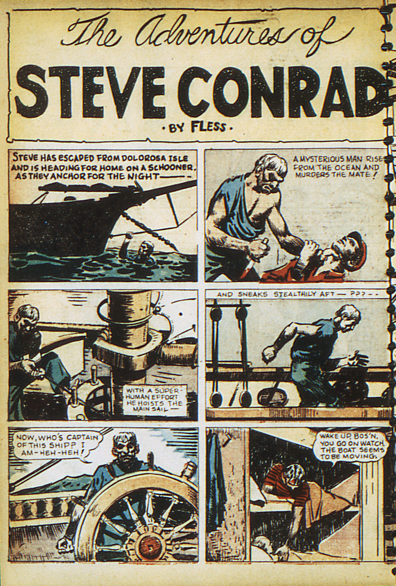 Read online Adventure Comics (1938) comic -  Issue #15 - 16