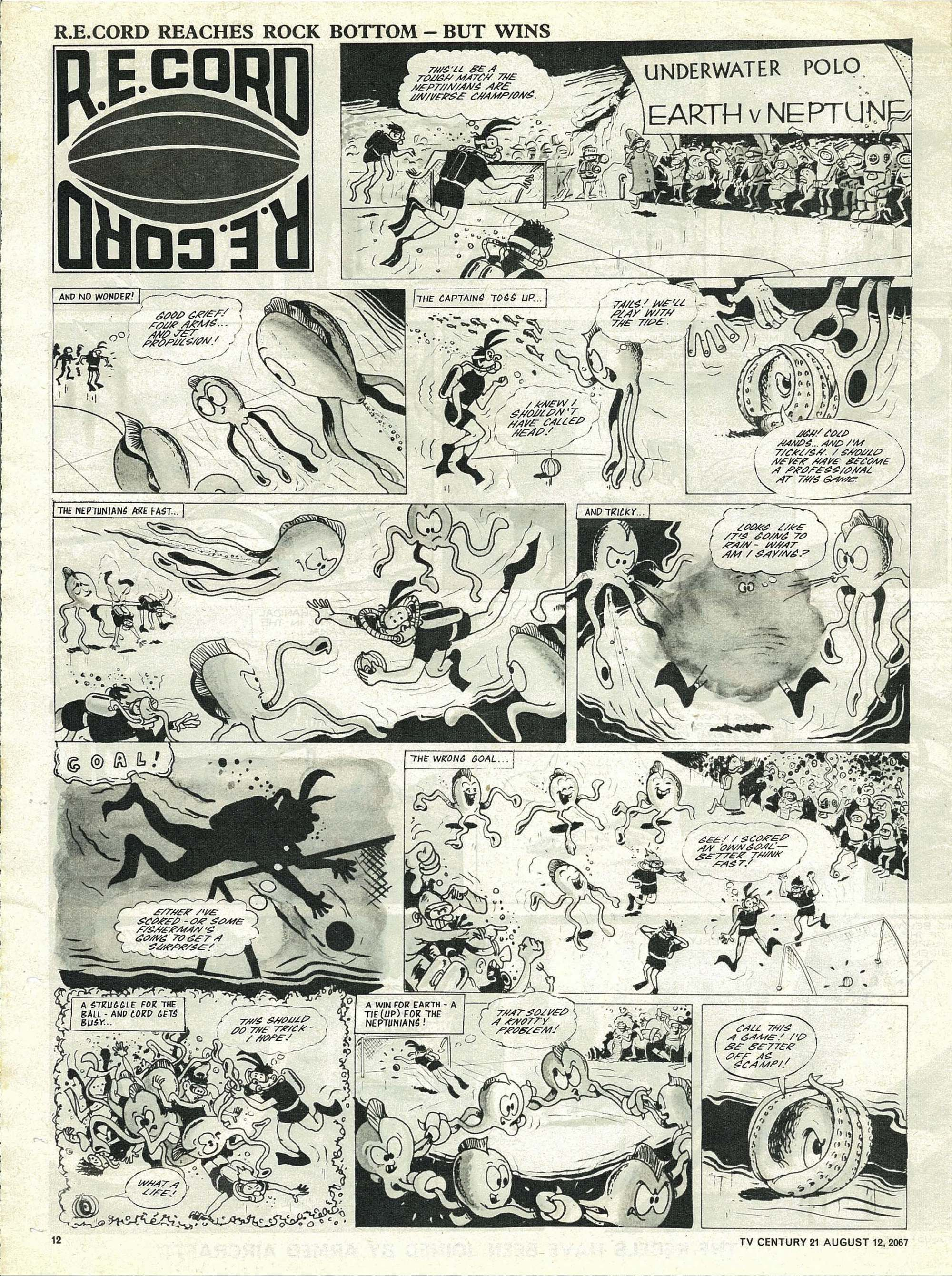 Read online TV Century 21 (TV 21) comic -  Issue #134 - 11