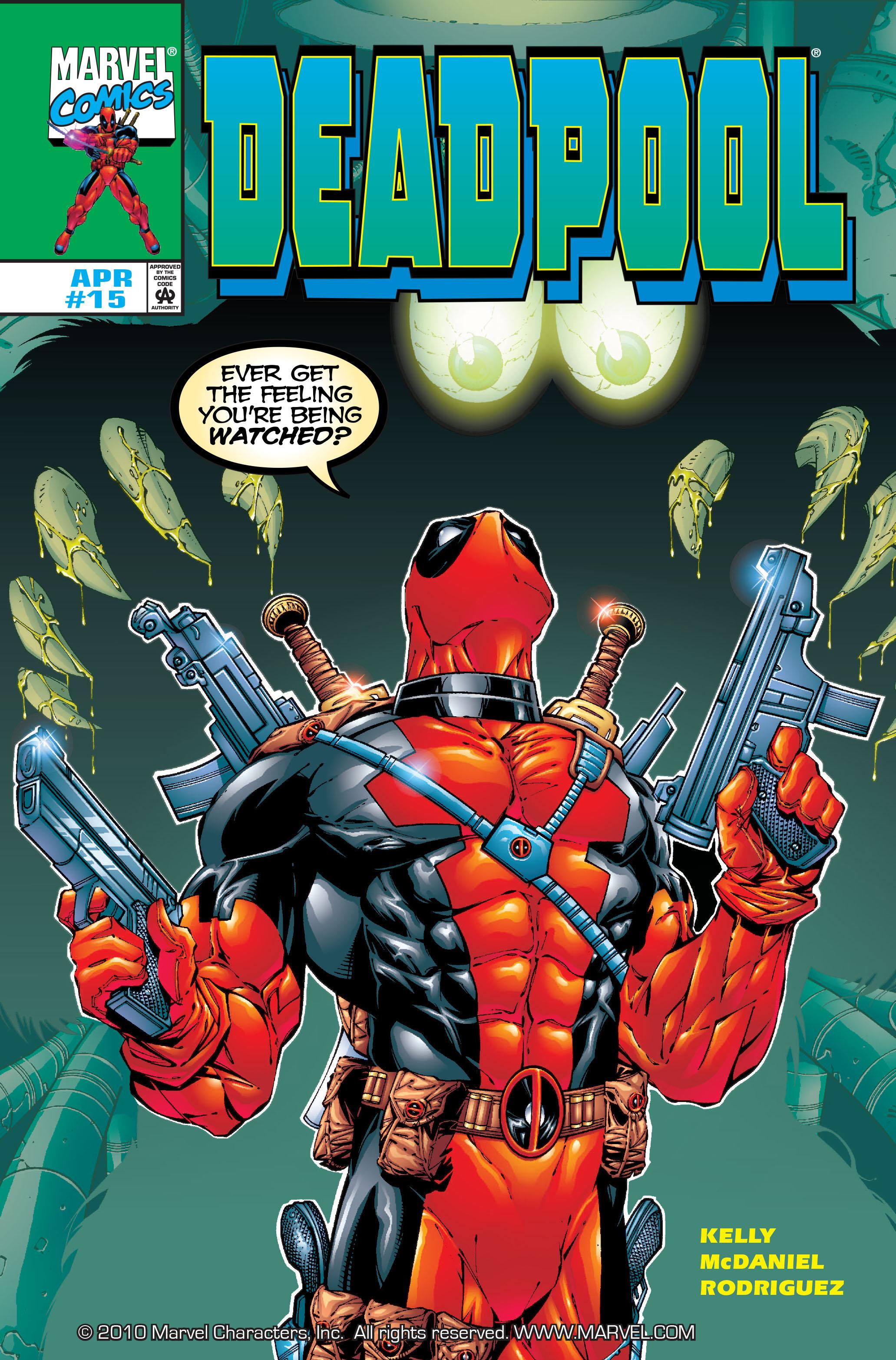 Deadpool (1997) 15 Page 1