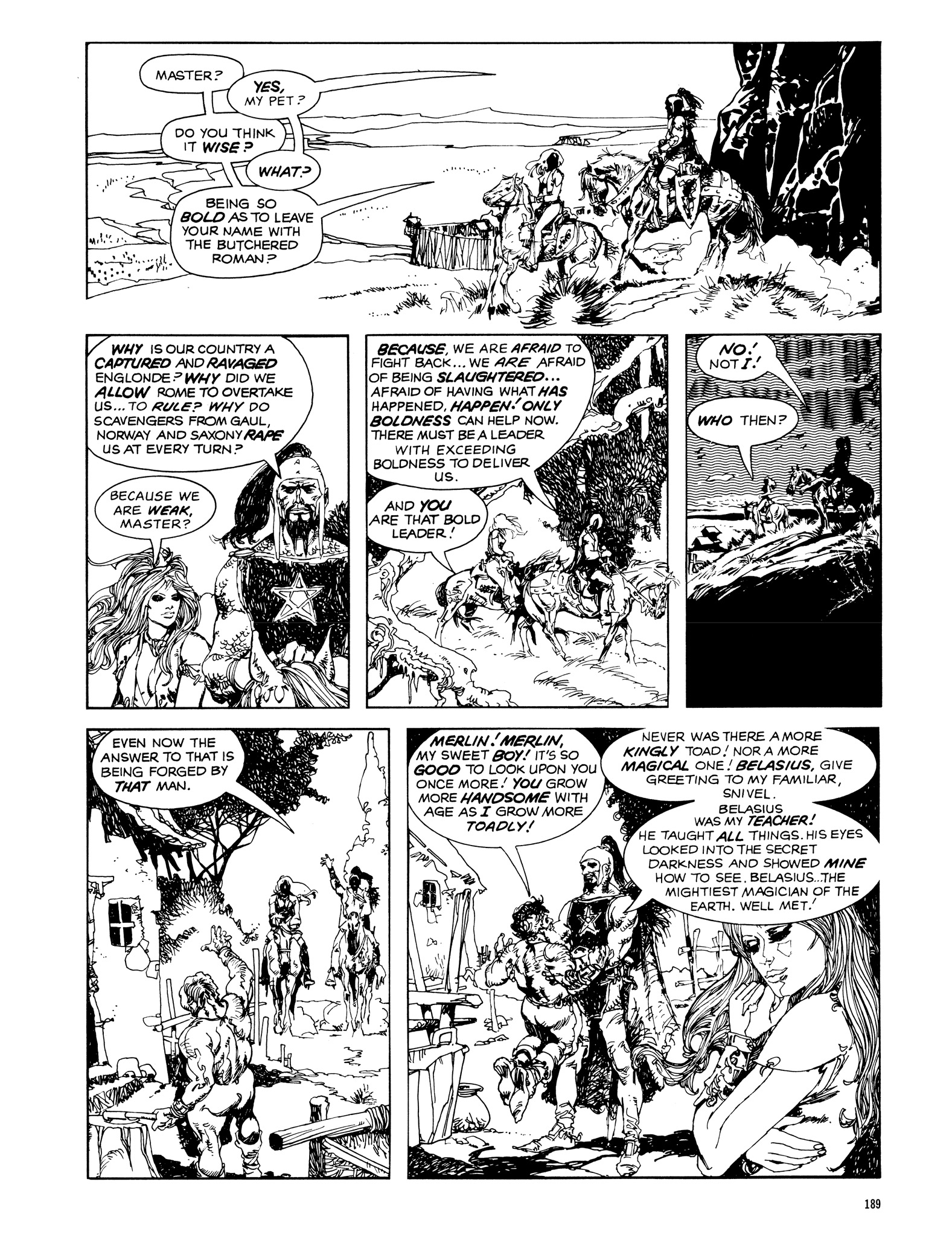 Read online Eerie Archives comic -  Issue # TPB 14 - 190