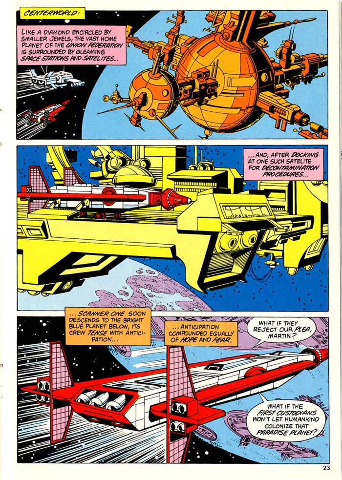 Read online Atari Force (1982) comic -  Issue #5 - 25