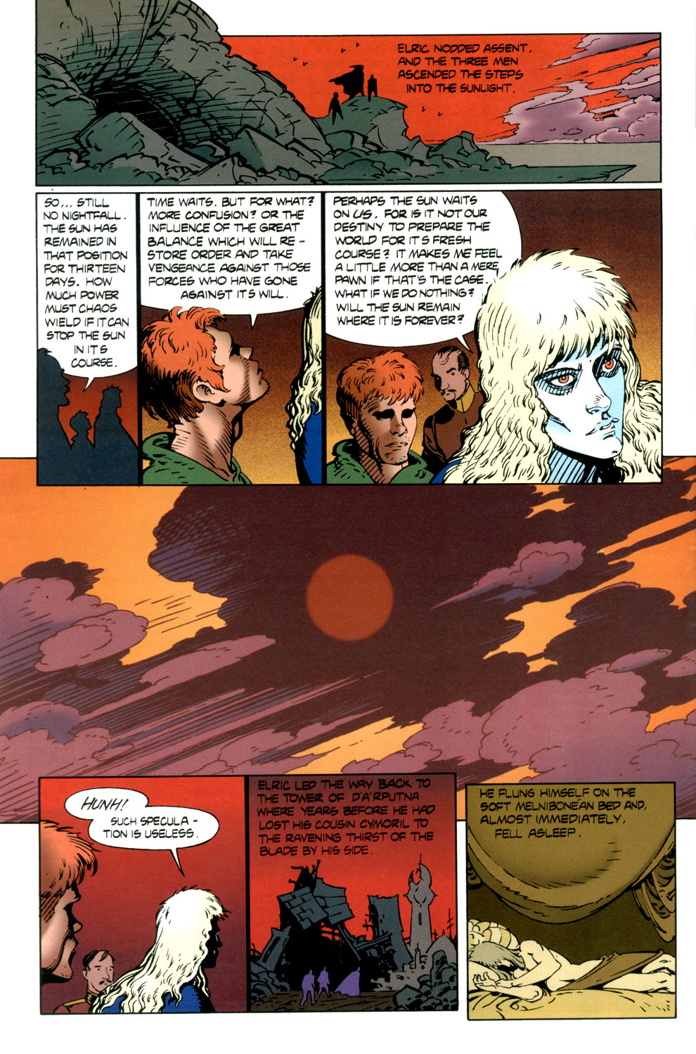 Read online Elric: Stormbringer comic -  Issue #6 - 6