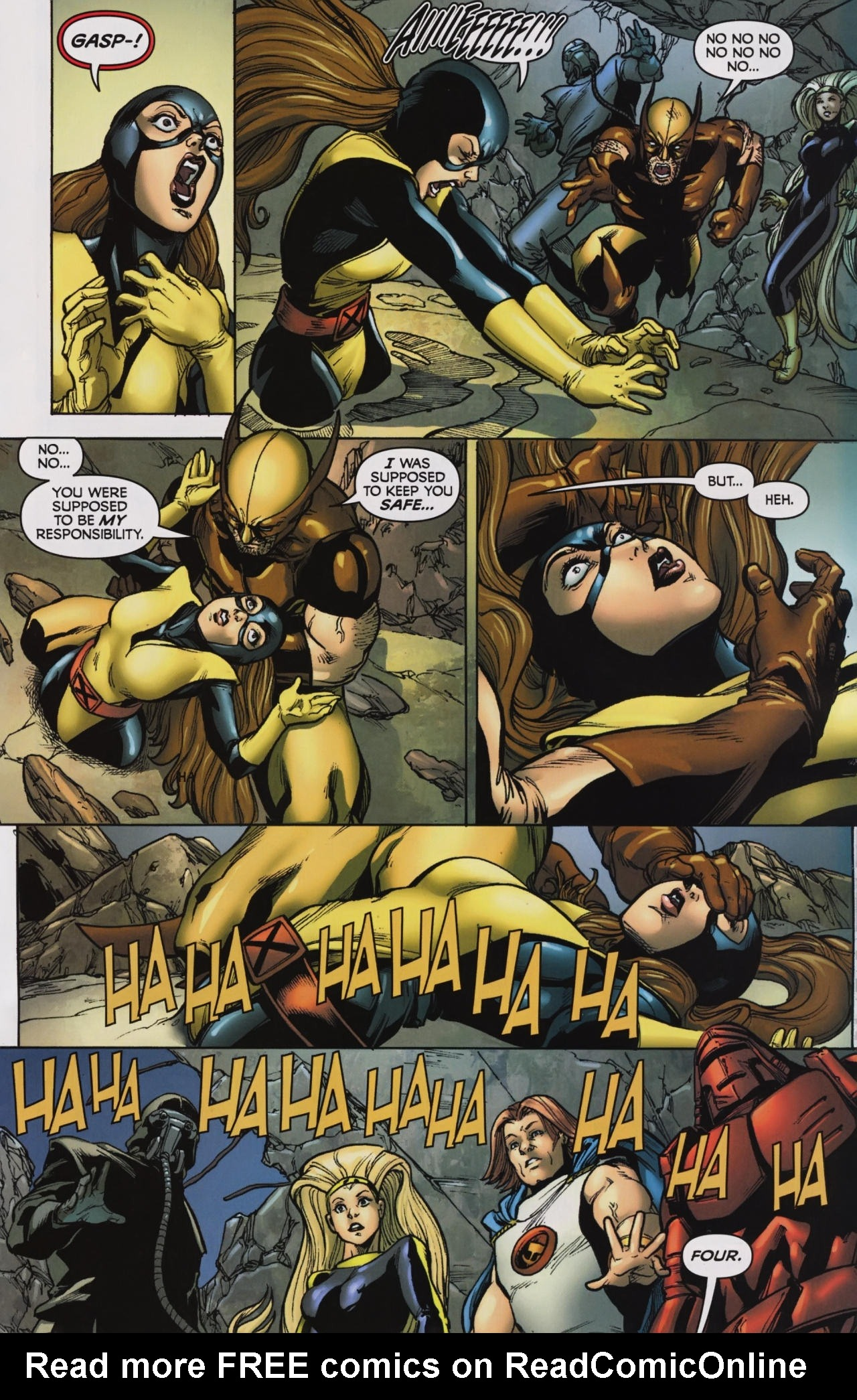 Read online Wolverine: First Class comic -  Issue #7 - 22
