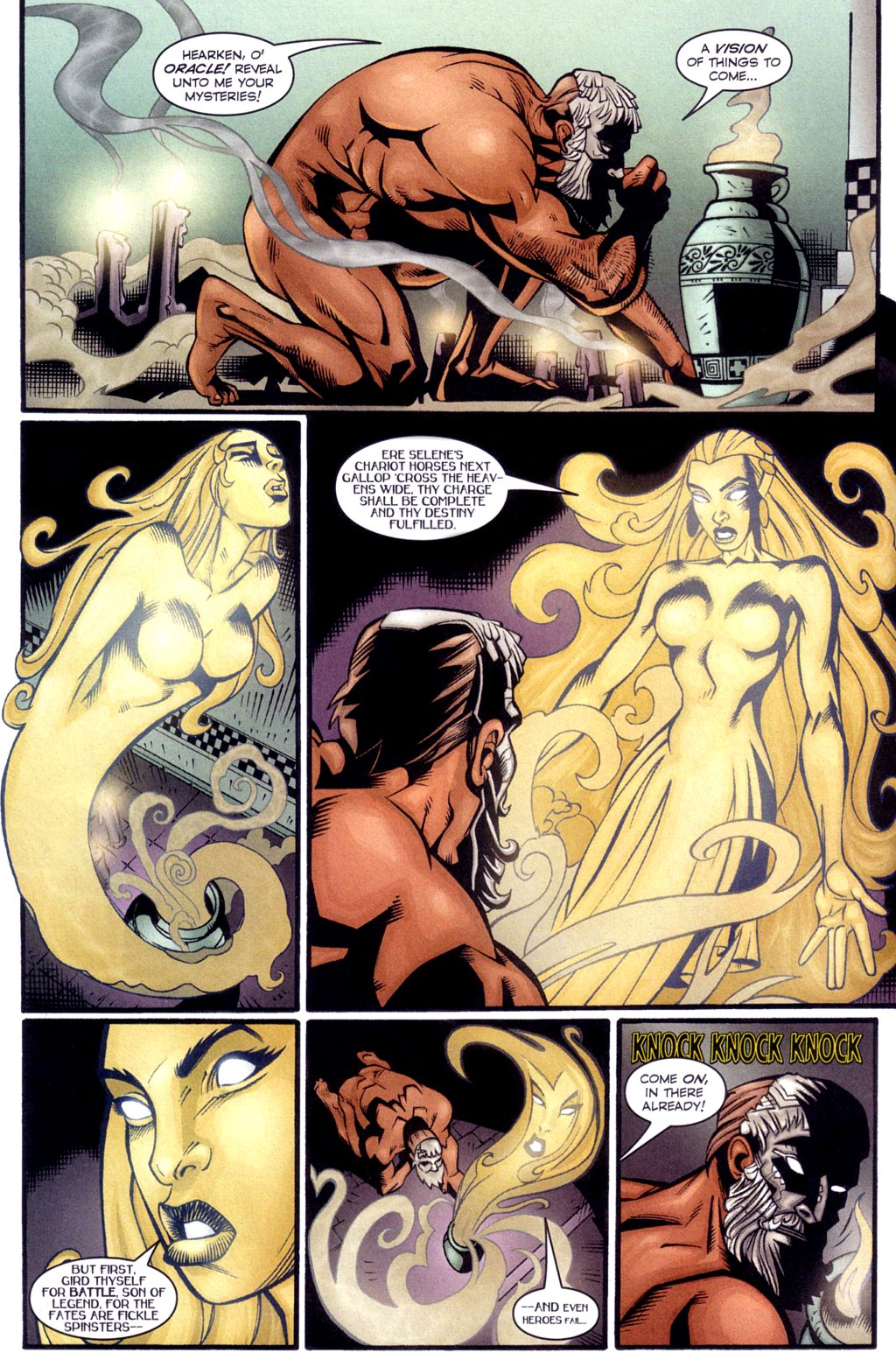 Read online Jezebelle comic -  Issue #4 - 3