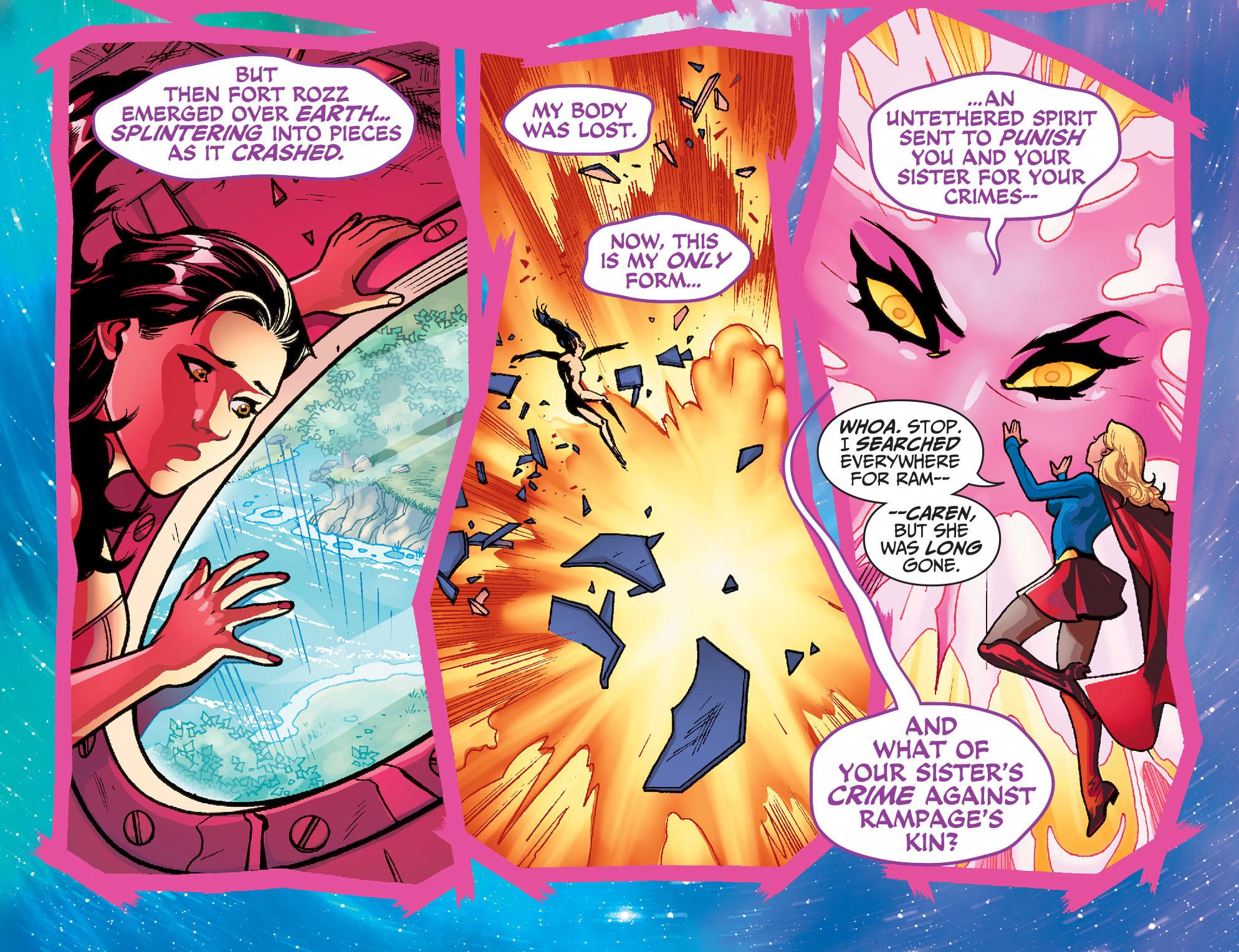 Read online Adventures of Supergirl comic -  Issue #7 - 18