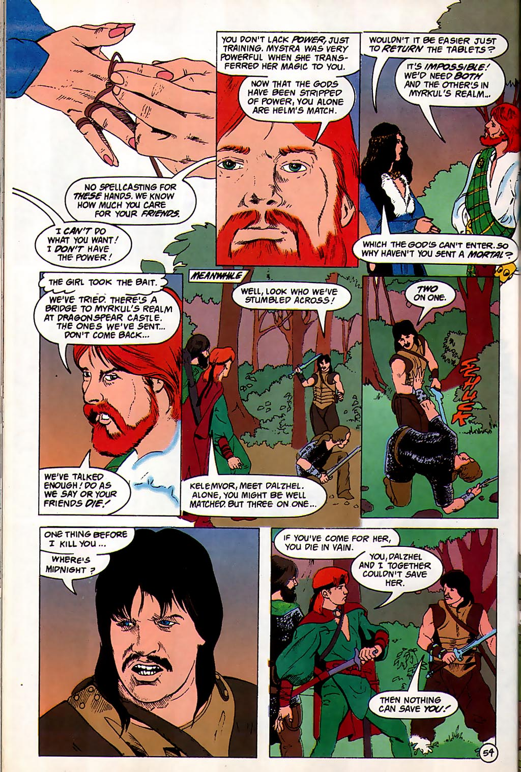 Read online Avatar comic -  Issue #3 - 55