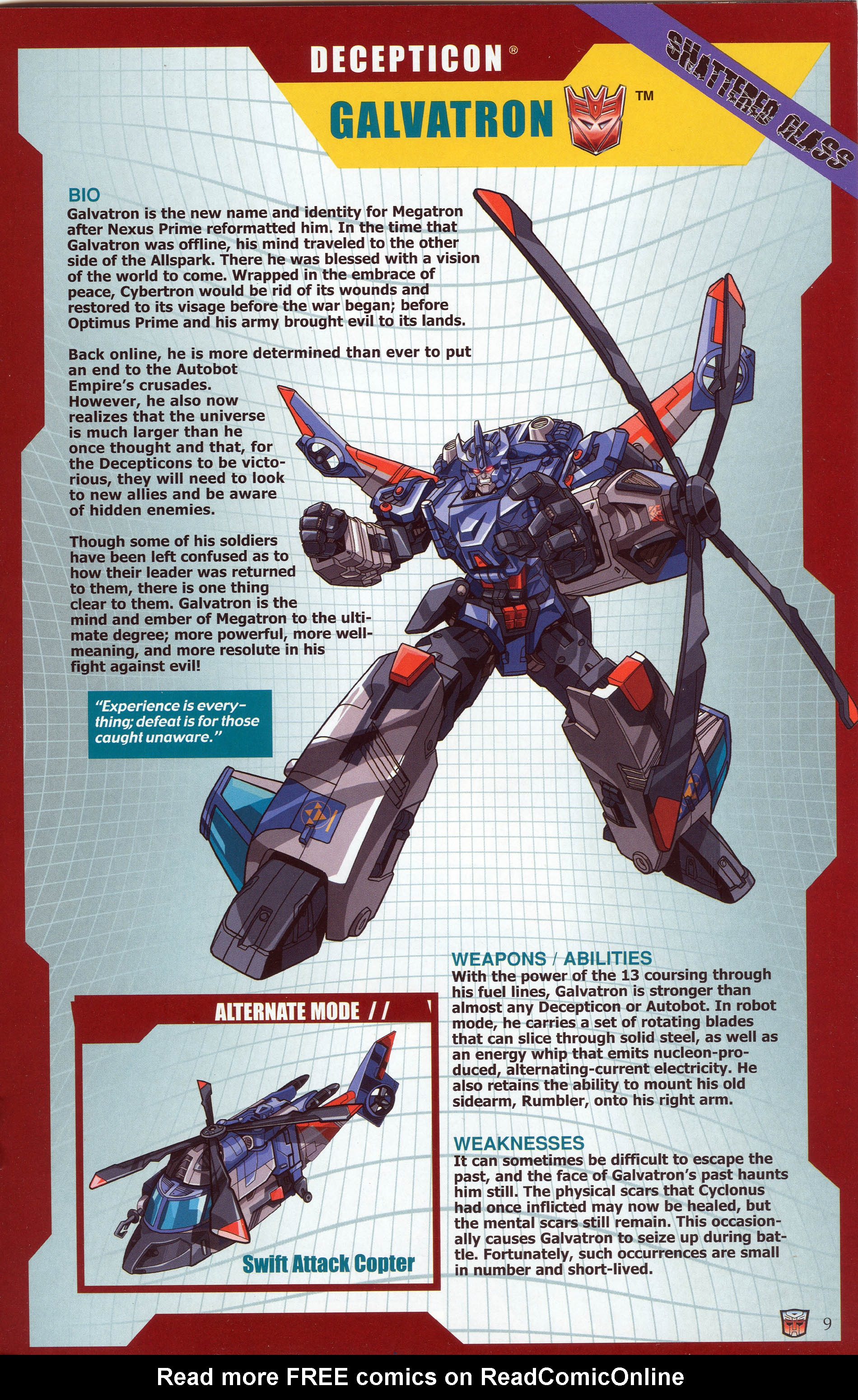 Read online Transformers: Collectors' Club comic -  Issue #30 - 9