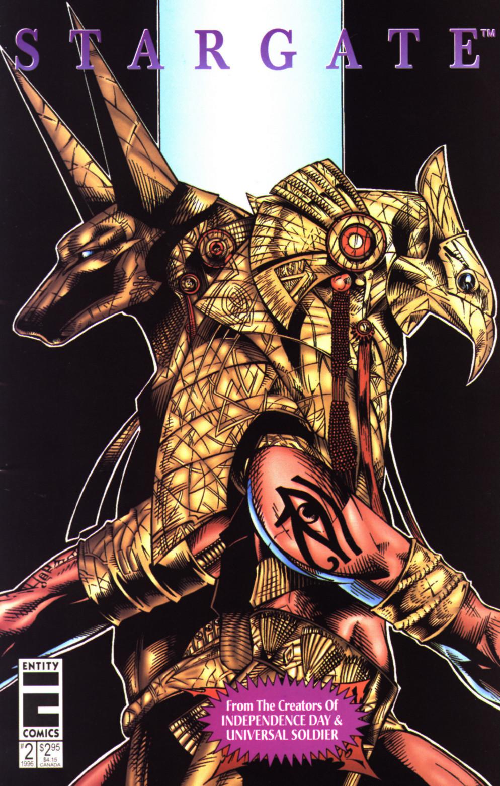 Read online Stargate comic -  Issue #2 - 1