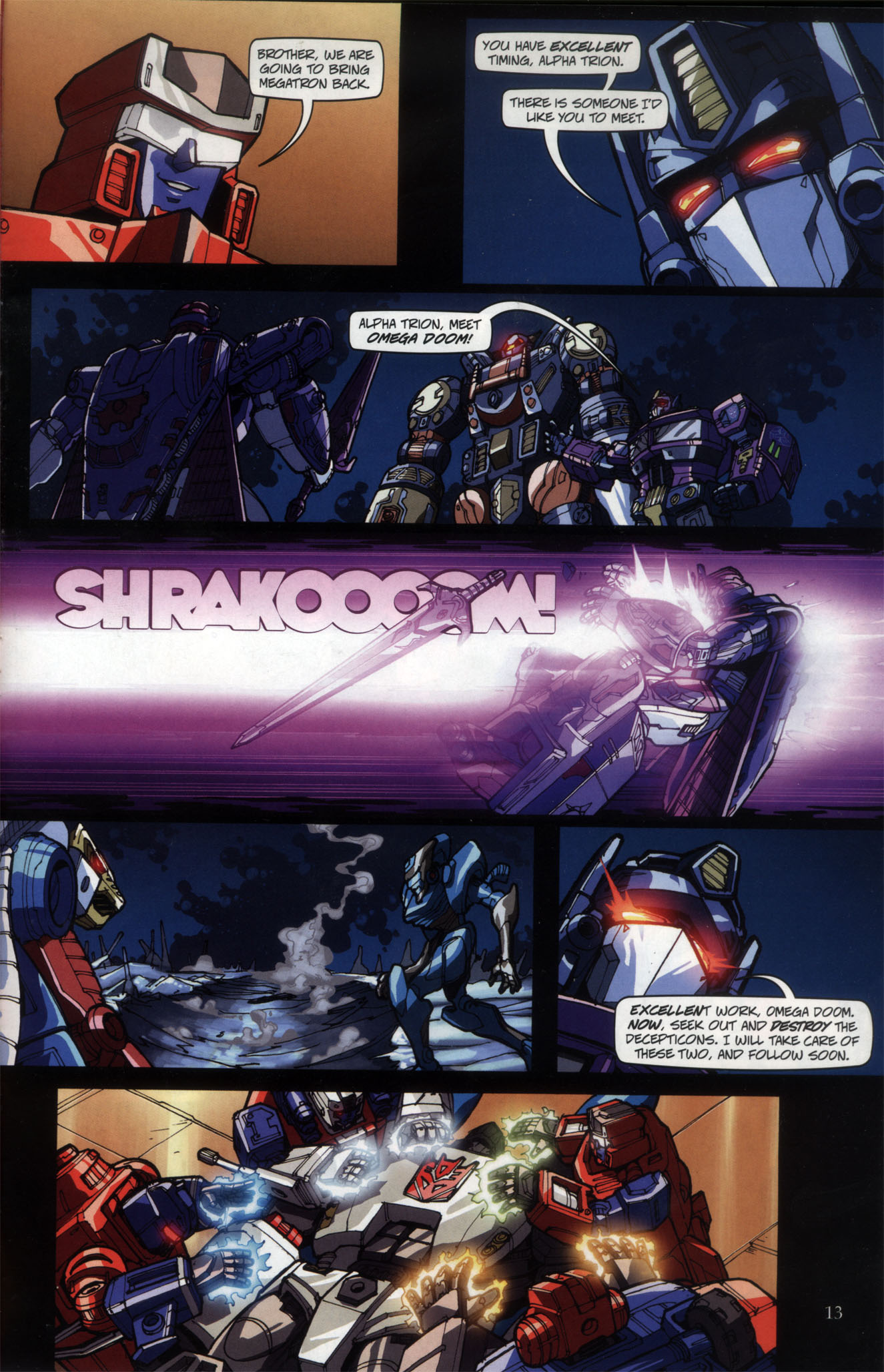 Read online Transformers: Collectors' Club comic -  Issue #29 - 13