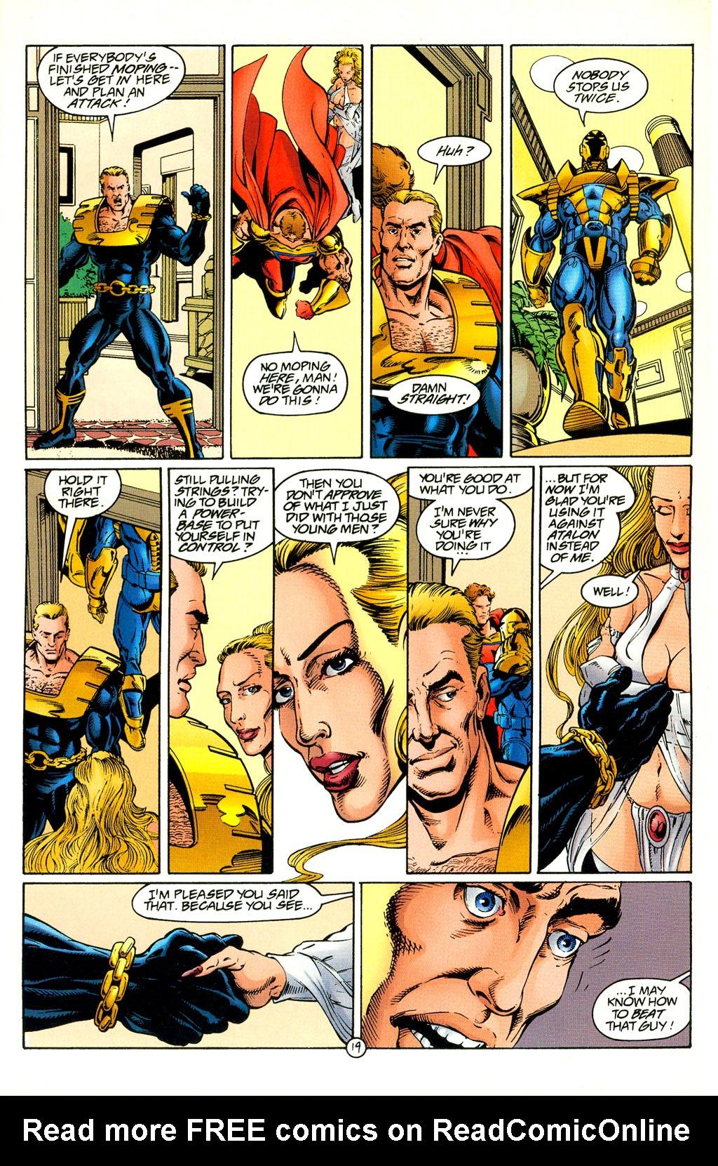 Read online UltraForce (1994) comic -  Issue #4 - 19