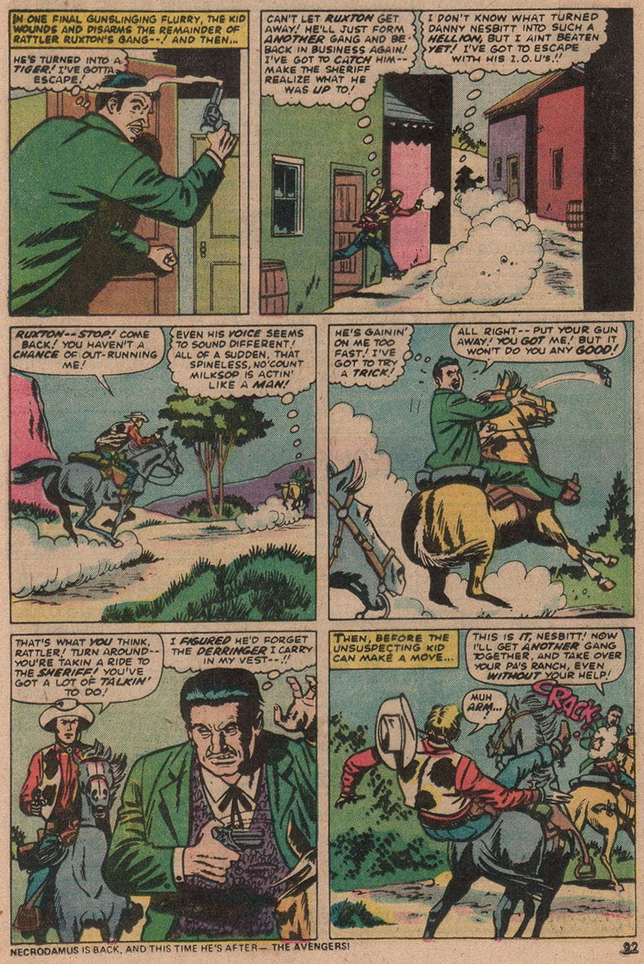 Kid Colt Outlaw issue 187 - Page 23