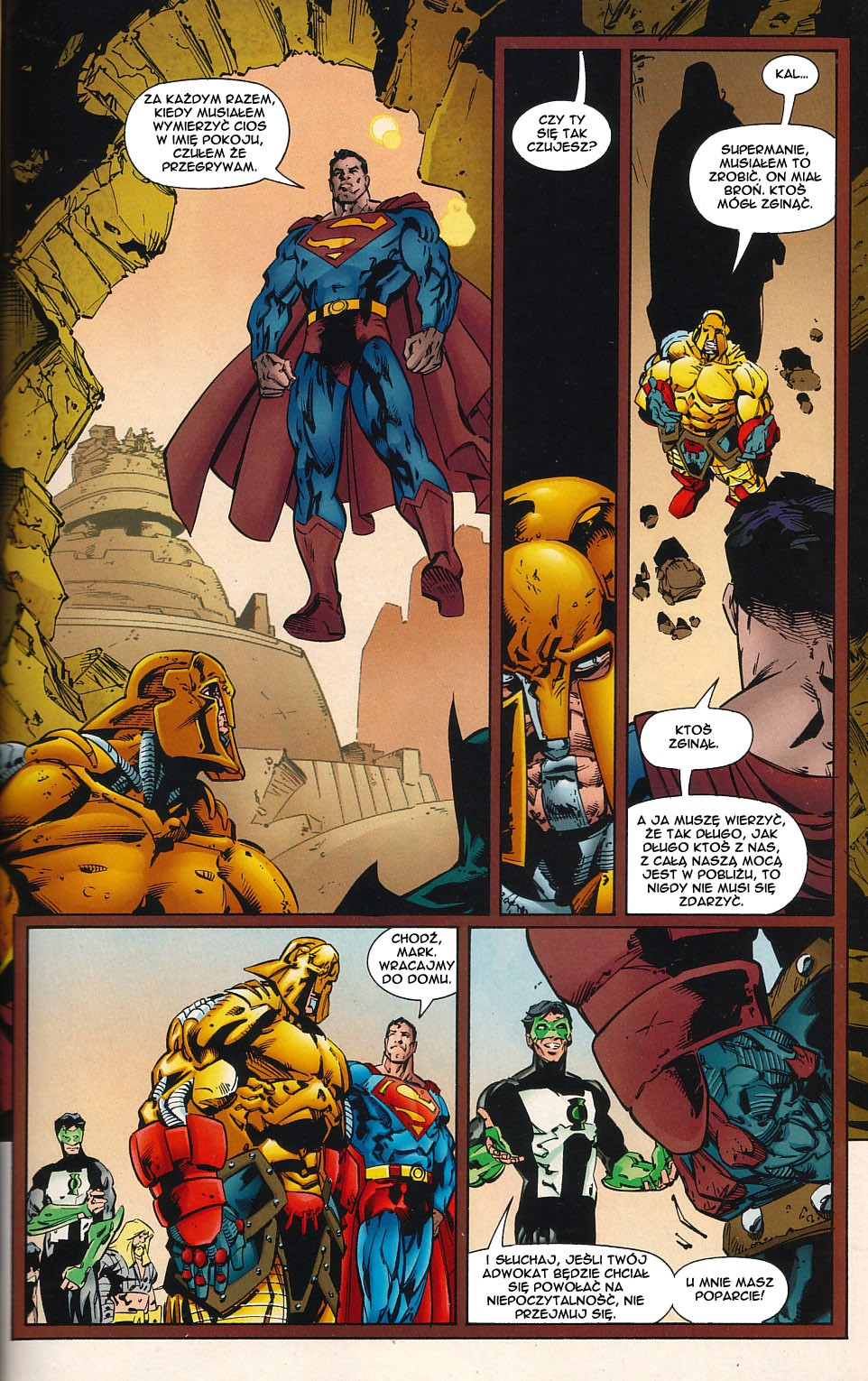 Read online JLA Superpower comic -  Issue # Full - 49