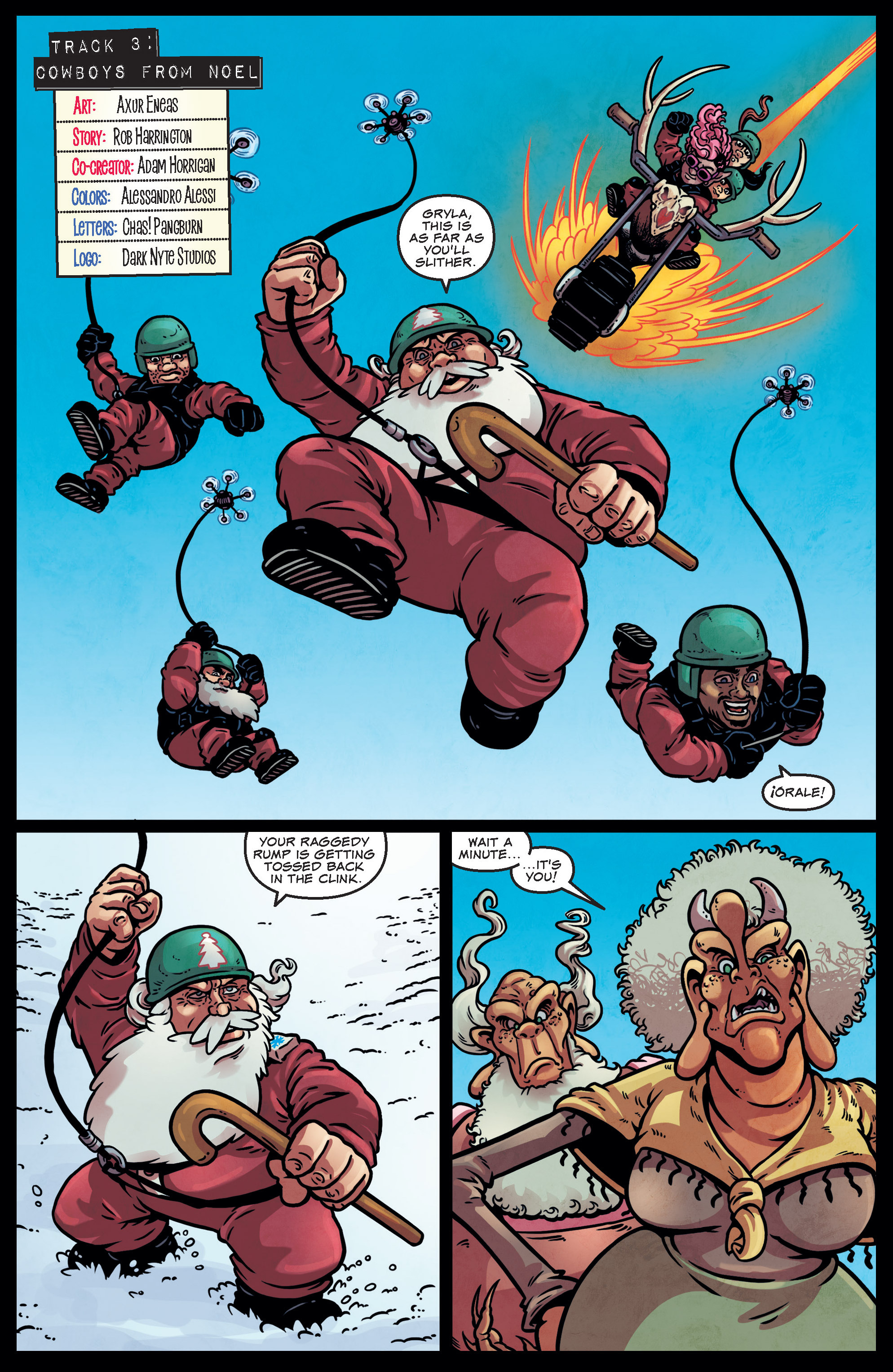 Read online Sleigher comic -  Issue #3 - 10