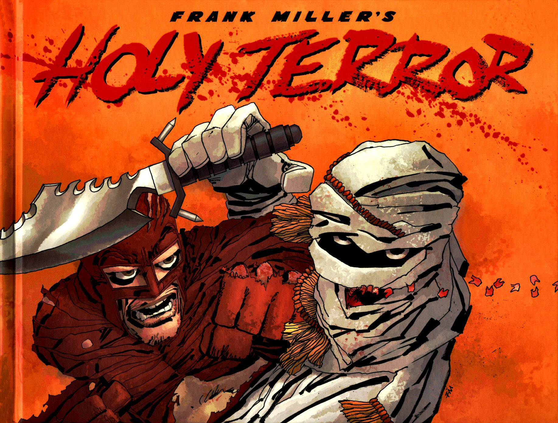 Read online Frank Miller's Holy Terror comic -  Issue # TPB - 1