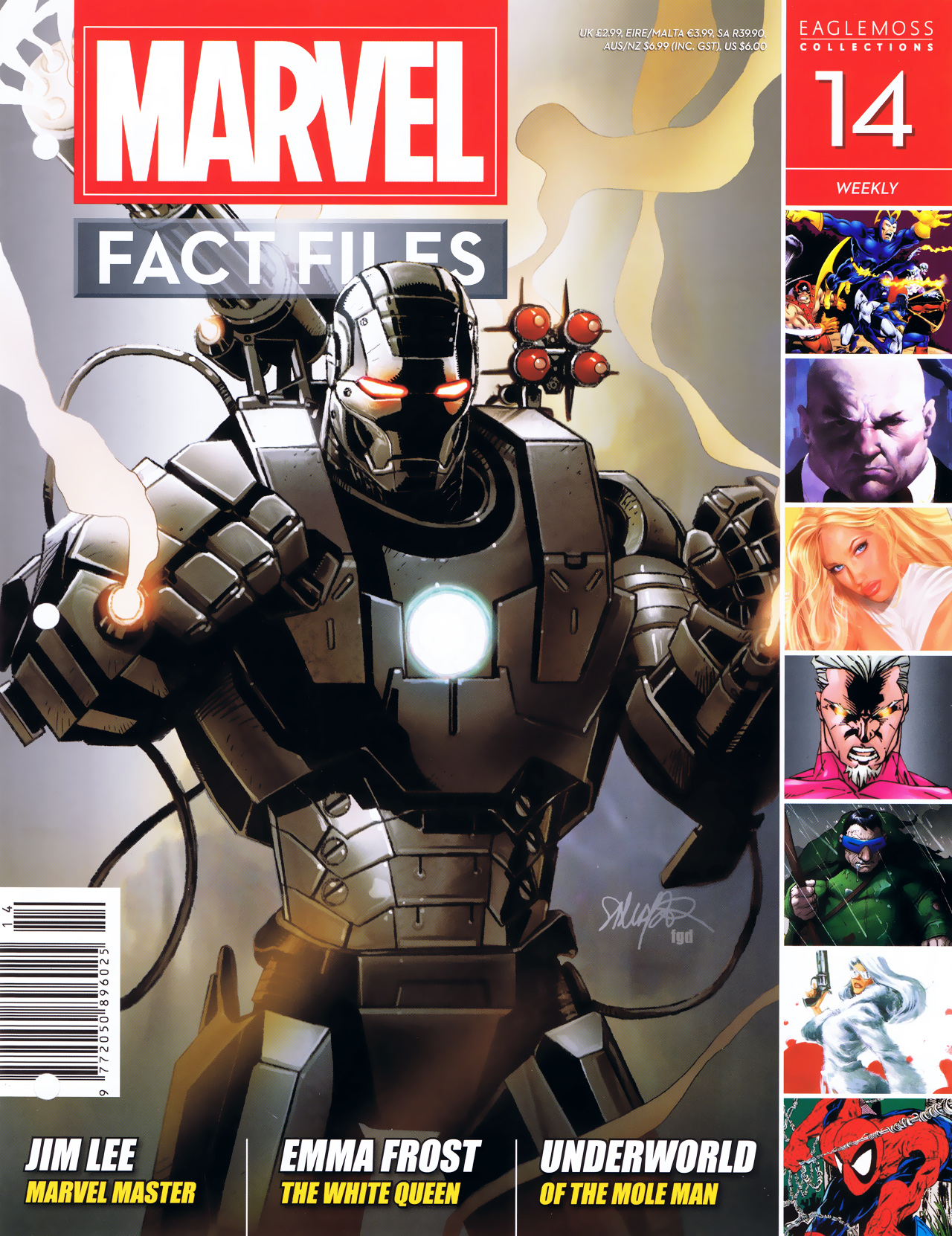 Marvel Fact Files 14 Page 1