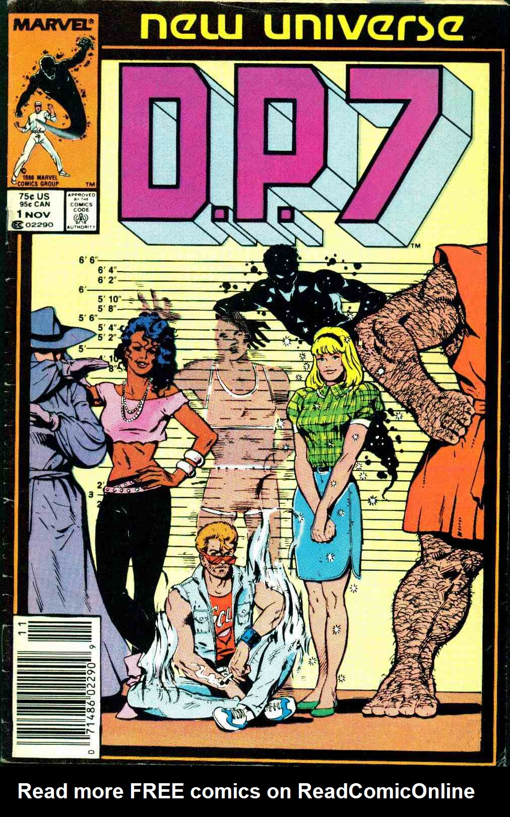 Read online DP7 comic -  Issue #1 - 1