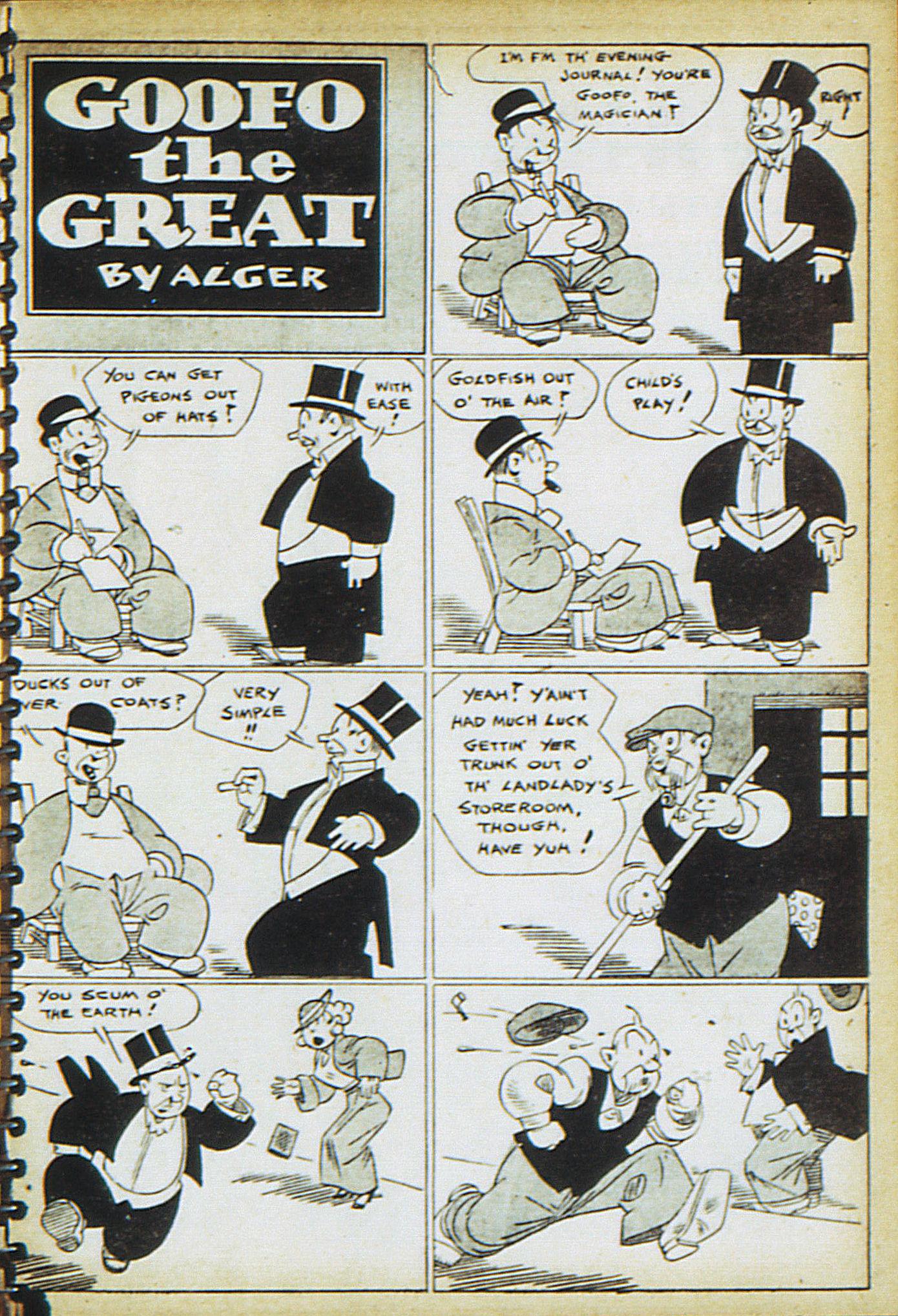 Read online Adventure Comics (1938) comic -  Issue #17 - 38