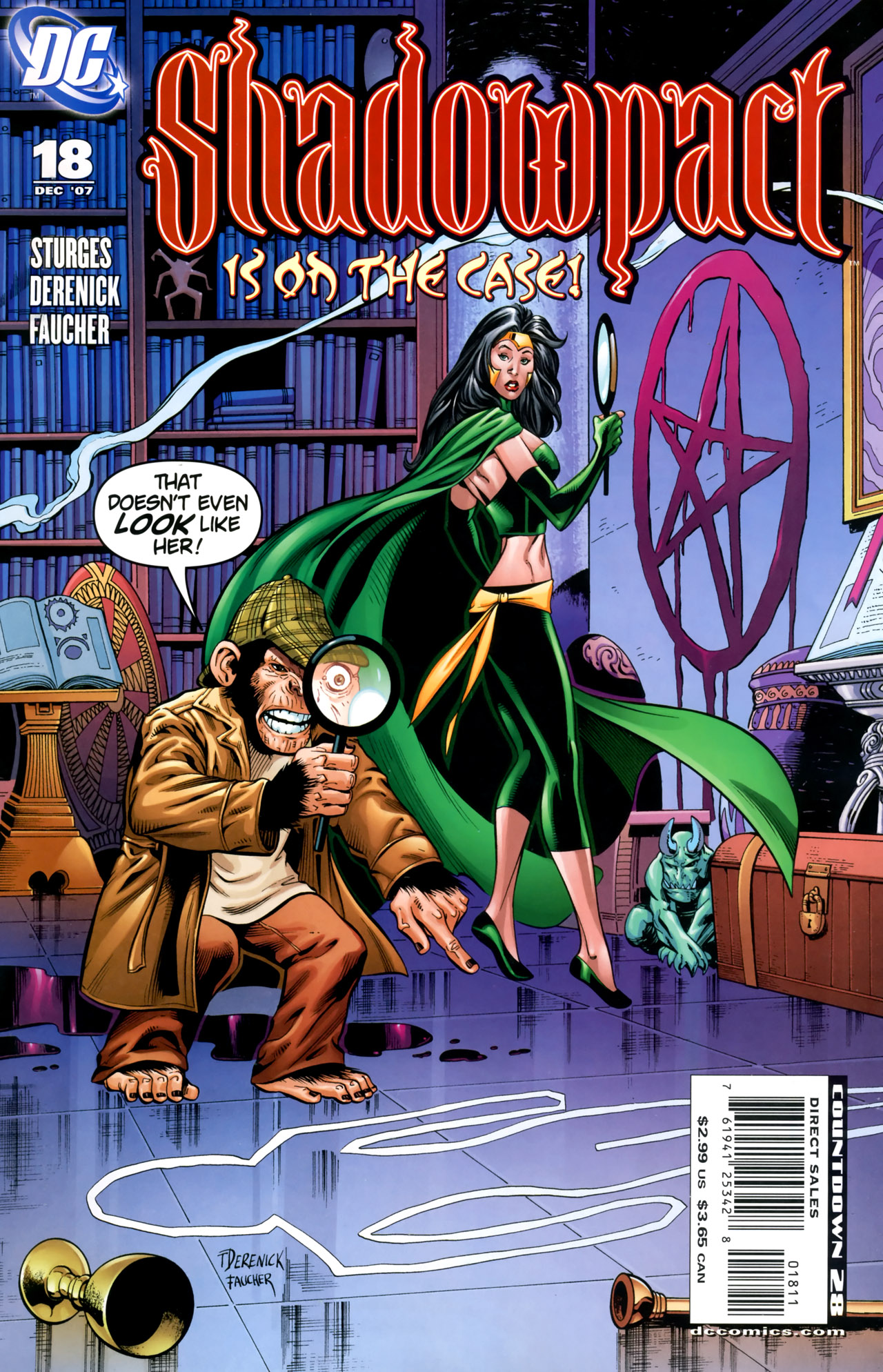 Read online Shadowpact comic -  Issue #18 - 1
