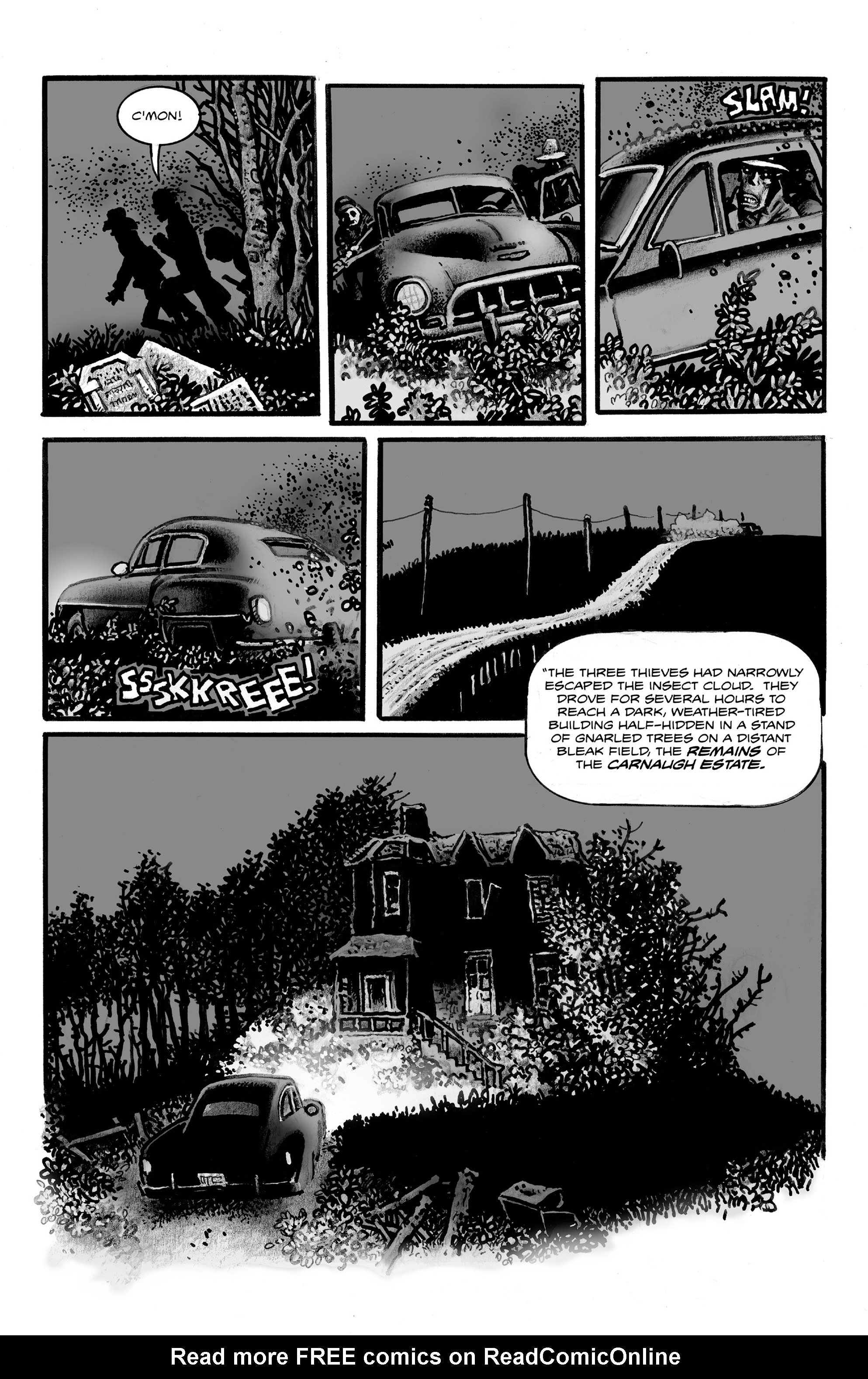 Read online Shadows on the Grave comic -  Issue #3 - 10