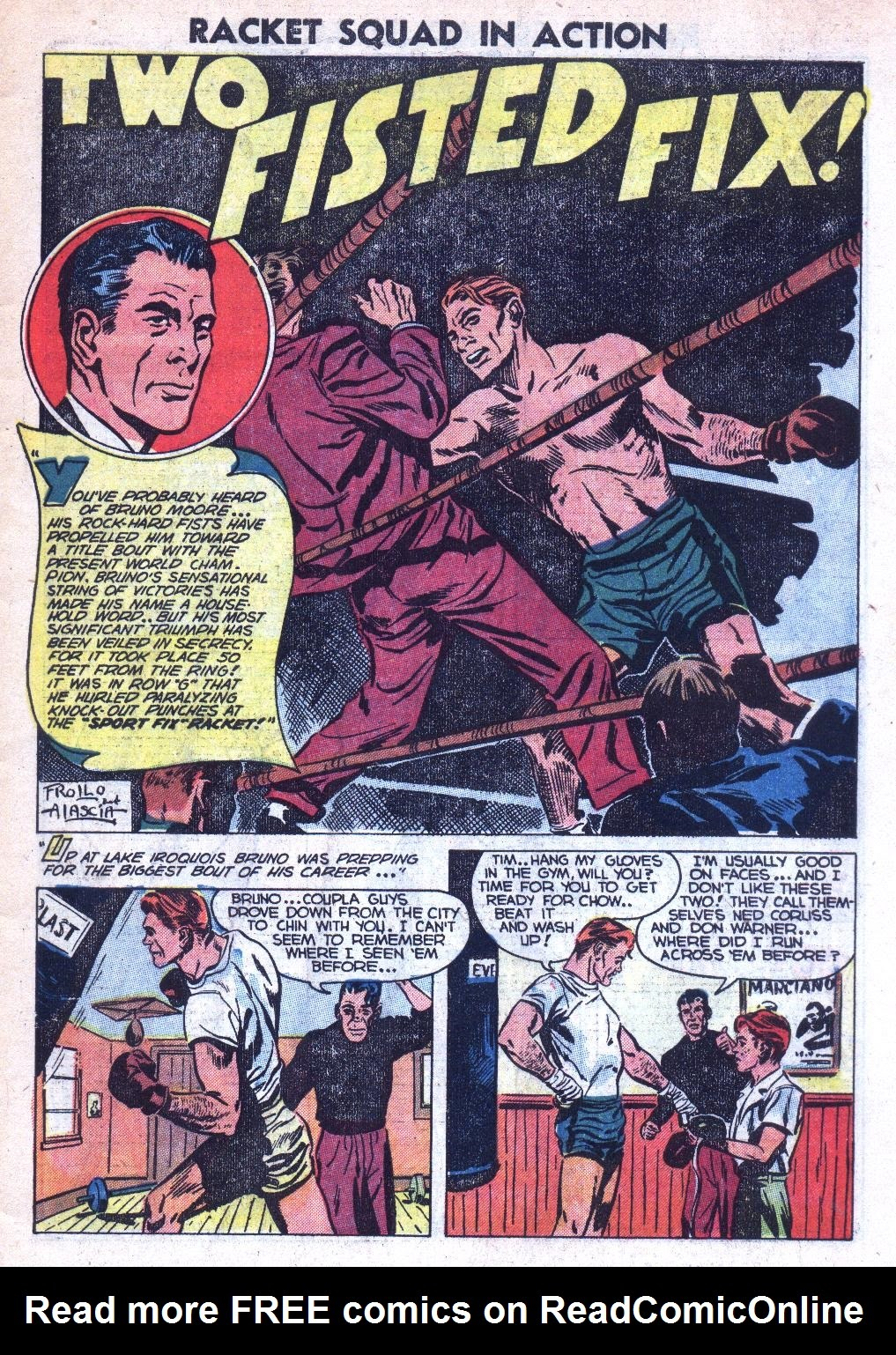 Read online Racket Squad in Action comic -  Issue #9 - 3
