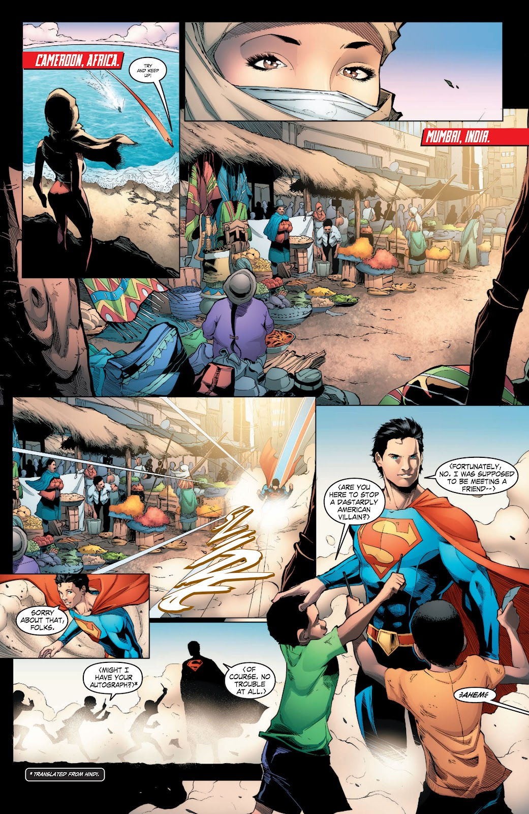Read online Smallville Season 11 [II] comic -  Issue # TPB 3 - 22