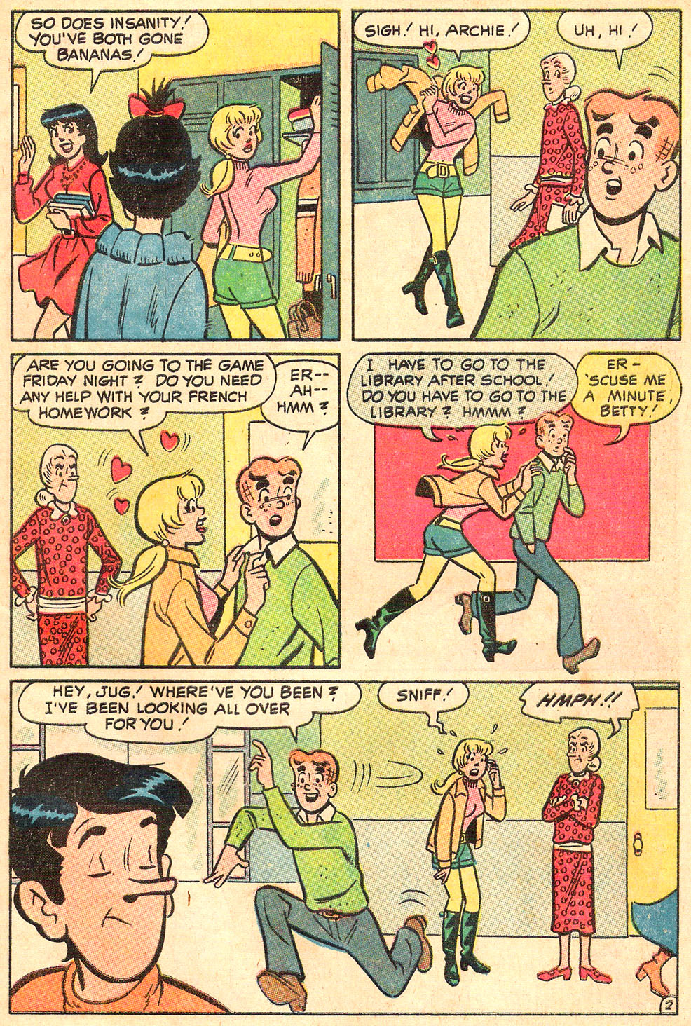 Read online Archie's Girls Betty and Veronica comic -  Issue #188 - 31
