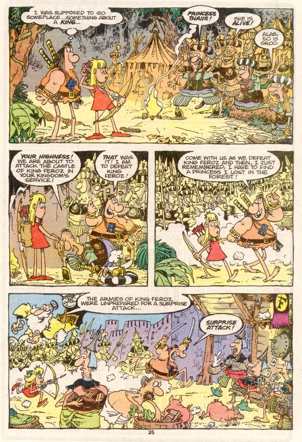 Read online Sergio Aragonés Groo the Wanderer comic -  Issue #81 - 20